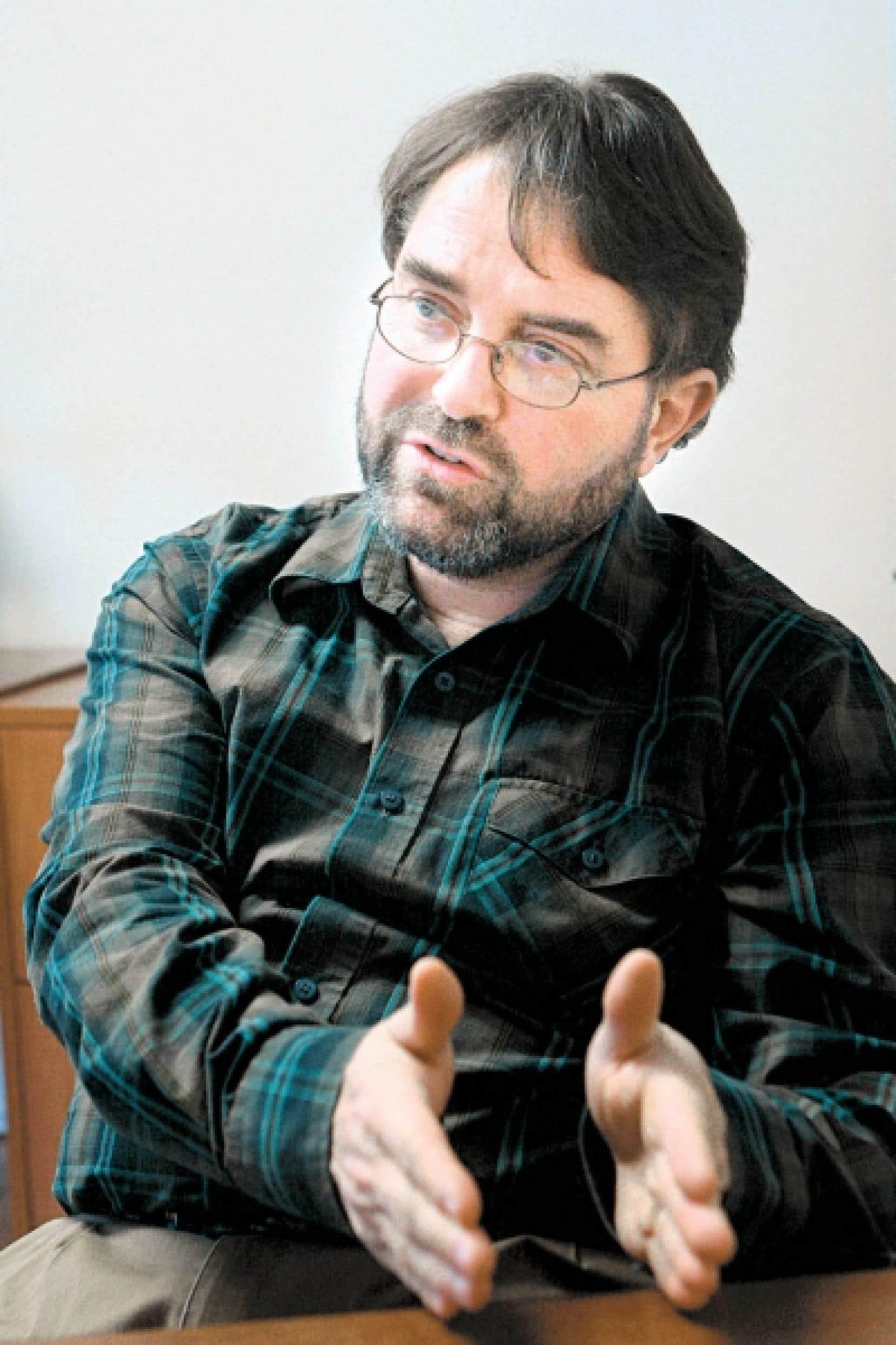 Nigel Roulet, professeur au D&eacute;partement de g&eacute;ographie de l&rsquo;Uni-versit&eacute; McGill et sp&eacute;cialiste en biog&eacute;ochimie<br />