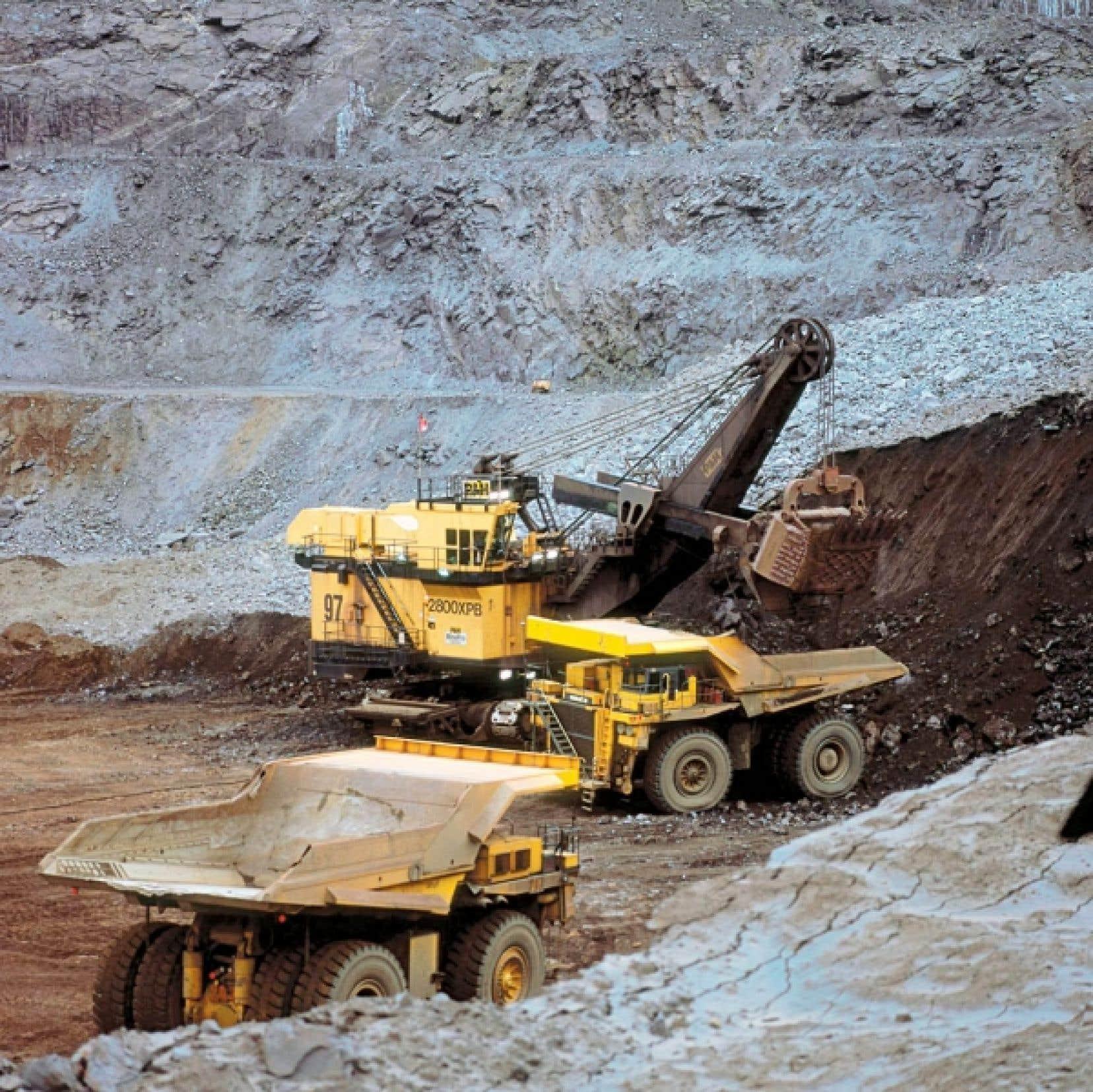 Le territoire du Nord du Qu&eacute;bec a un immense potentiel minier.<br />