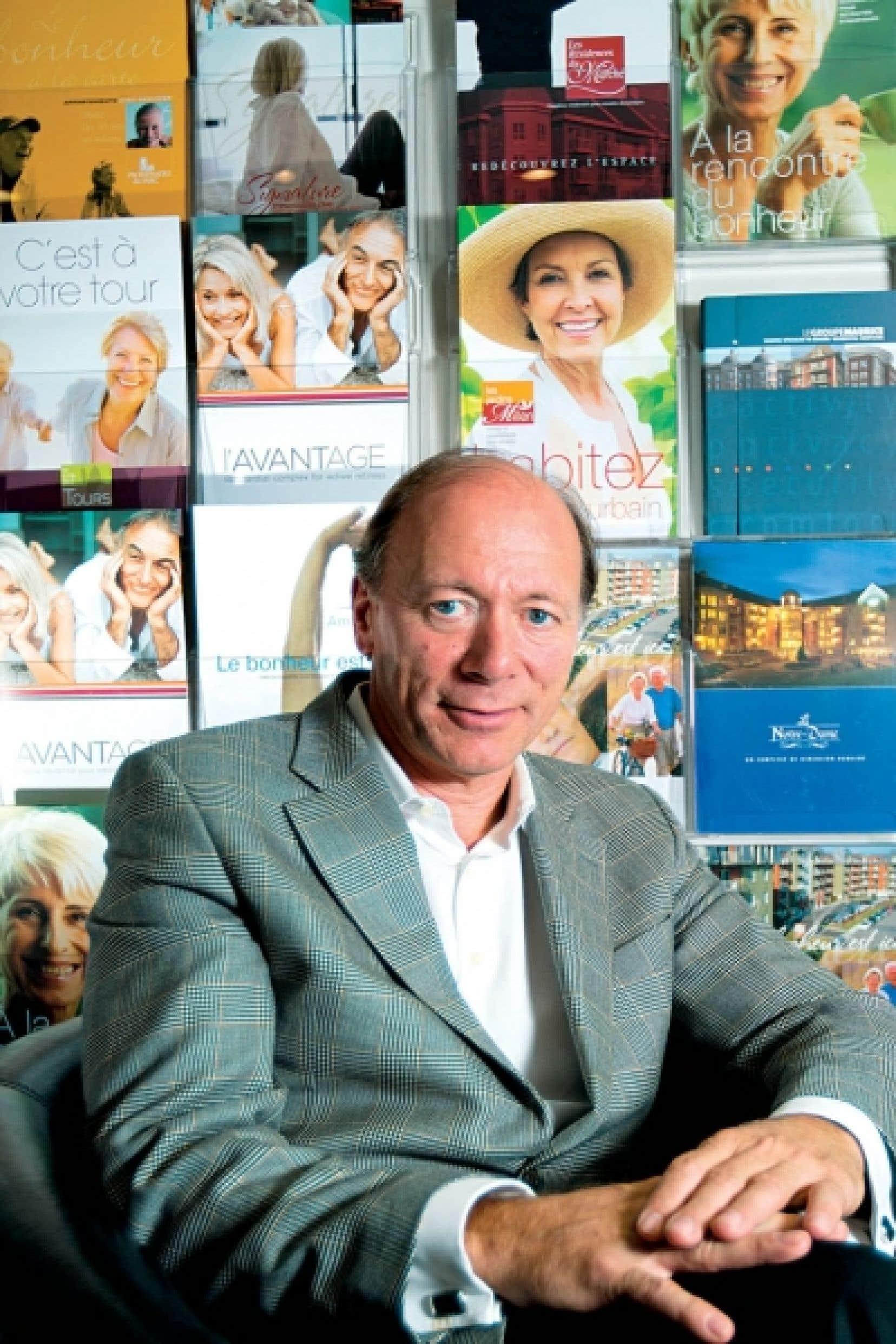 Luc Maurice: «Le corporatif, ce n'était pas pour moi. J'avais besoin d'une cause.»<br />