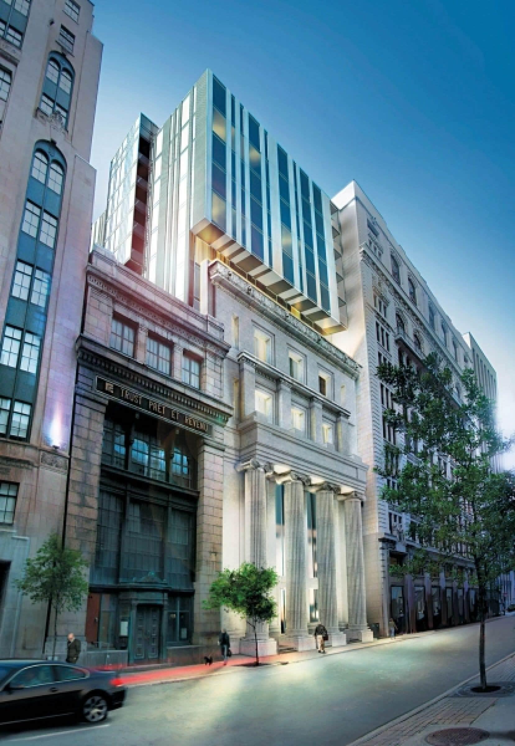 Le 221 Saint-Jacques accueillera 43 résidences urbaines.<br />