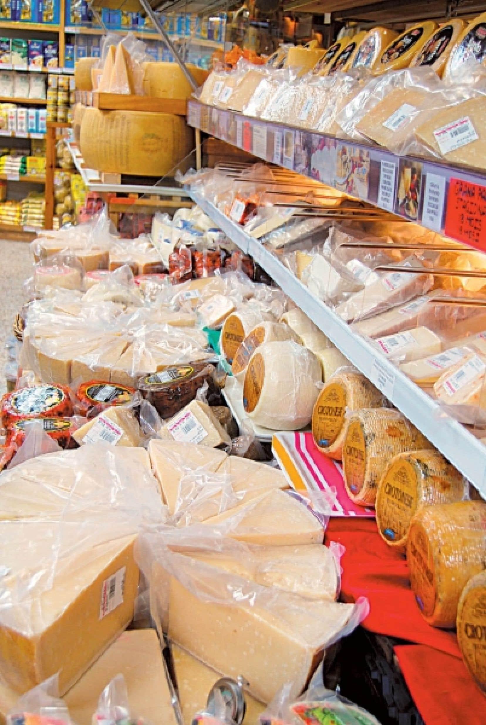 &Agrave; La Baie des fromages se trouvent les meilleurs panettones et nougats ainsi que le plus grand choix de fromages d&rsquo;Italie. <br />