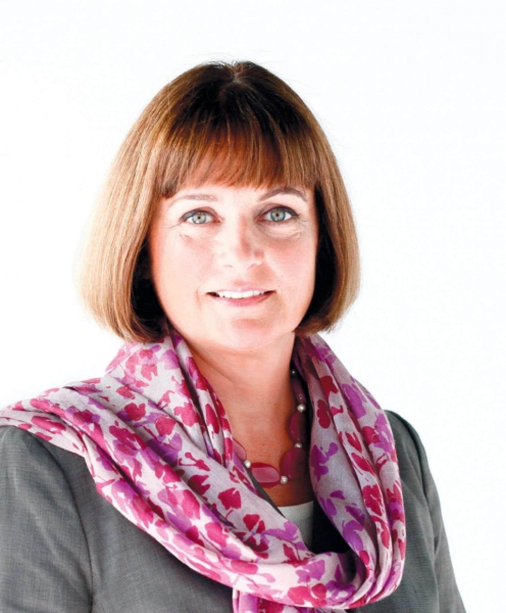 Julie Miville-Dechêne, présidente du Conseil du statut de la femme<br />