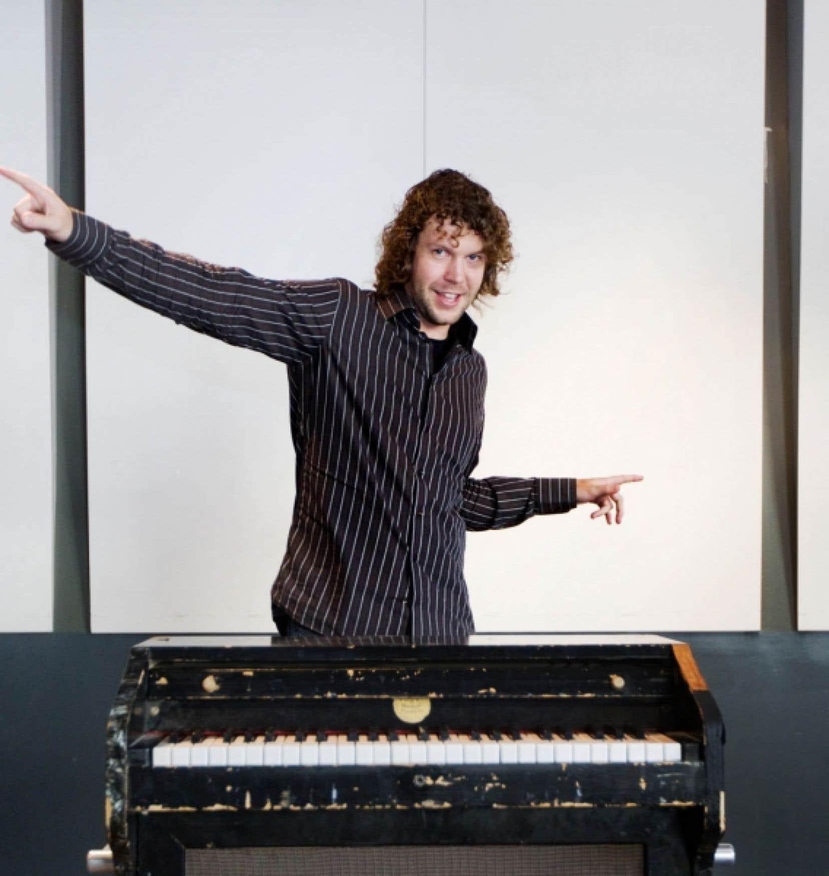Ben Wilkins: un studio d'enregistrement rien que pour lui. <br />