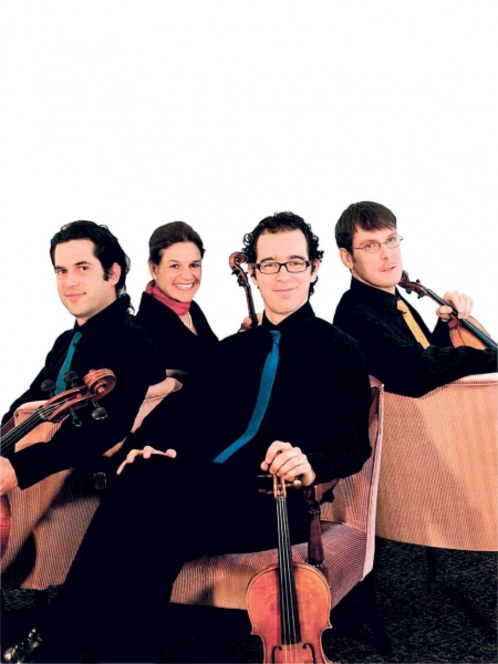 Le quatuor Molinari a une nouvelle fois remport&eacute; le prix Opus du concert de l&rsquo;ann&eacute;e &agrave; Montr&eacute;al.<br />