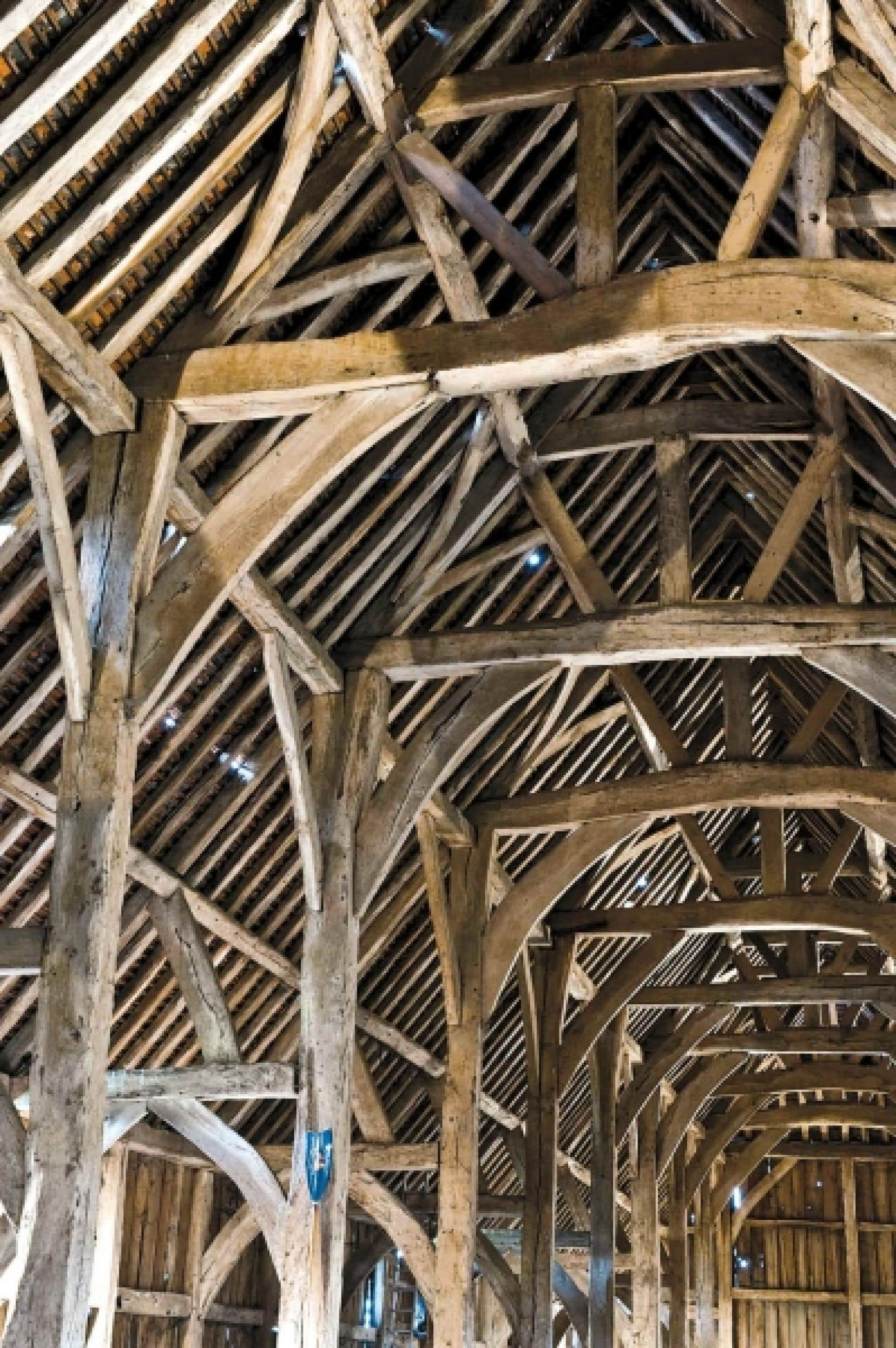 Angleterre une cath drale de bois sauv e des mains de la - La grange du bien etre vendegies au bois ...