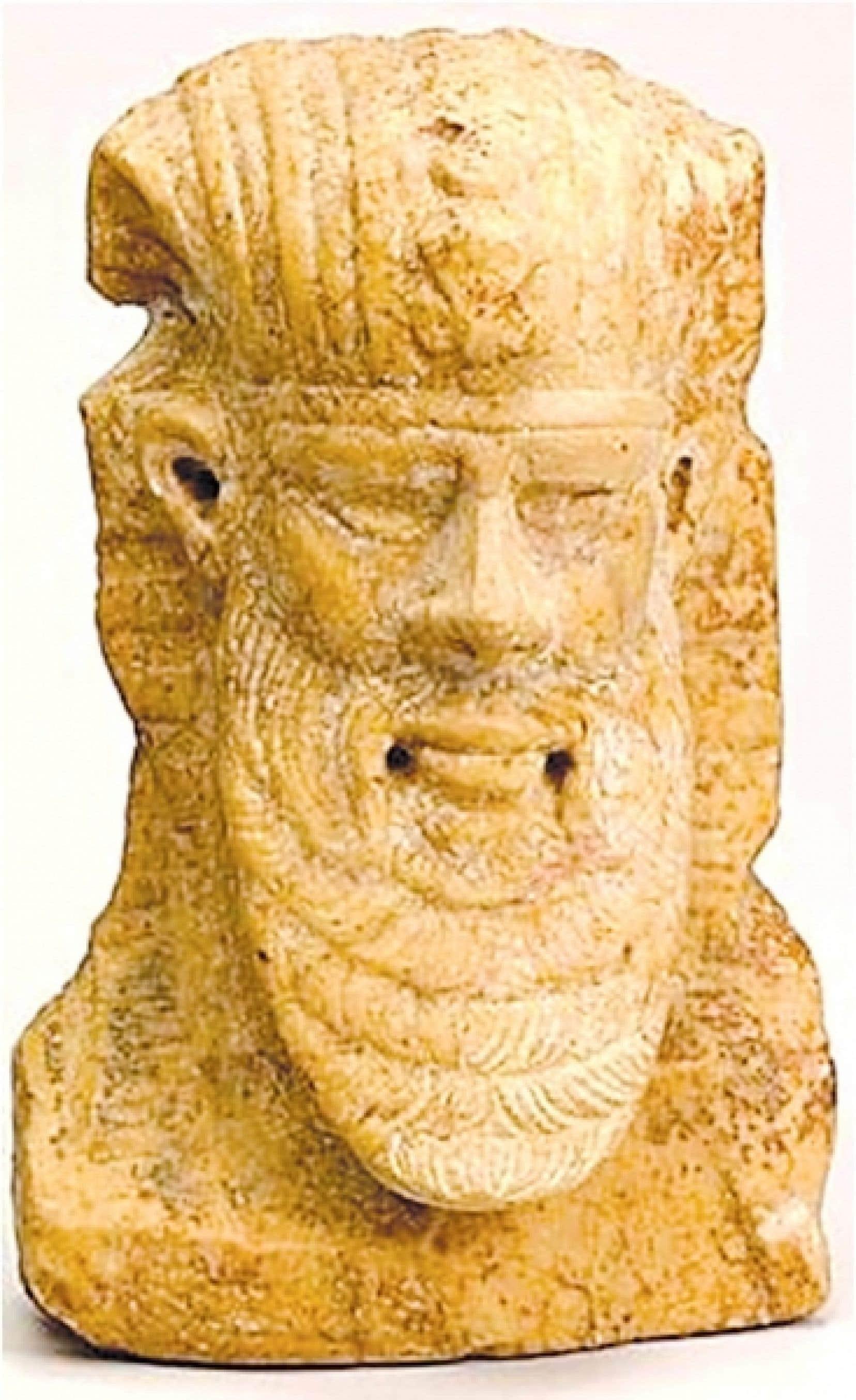 Tête d'un homme de style égypto-archaïsant (1er siècle après J.-C.)