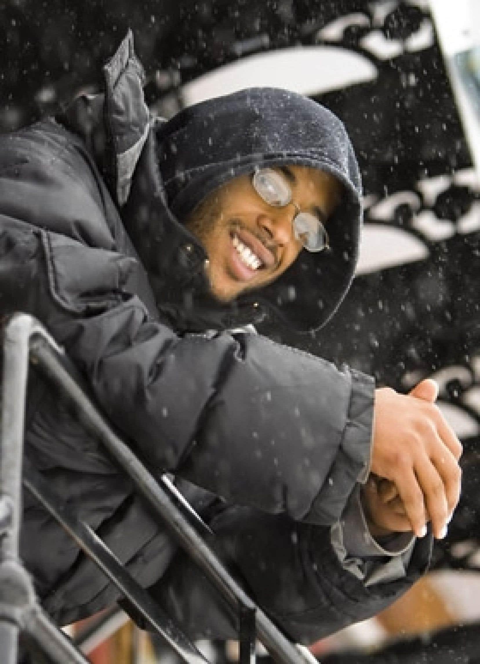 Le rappeur Ali Ndiaye, alias Webster