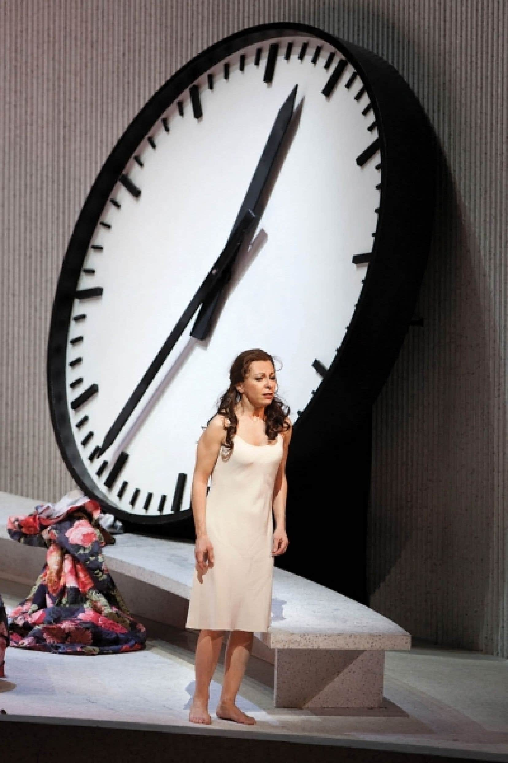 Natalie Dessay dans la production du MET de La Traviata<br />