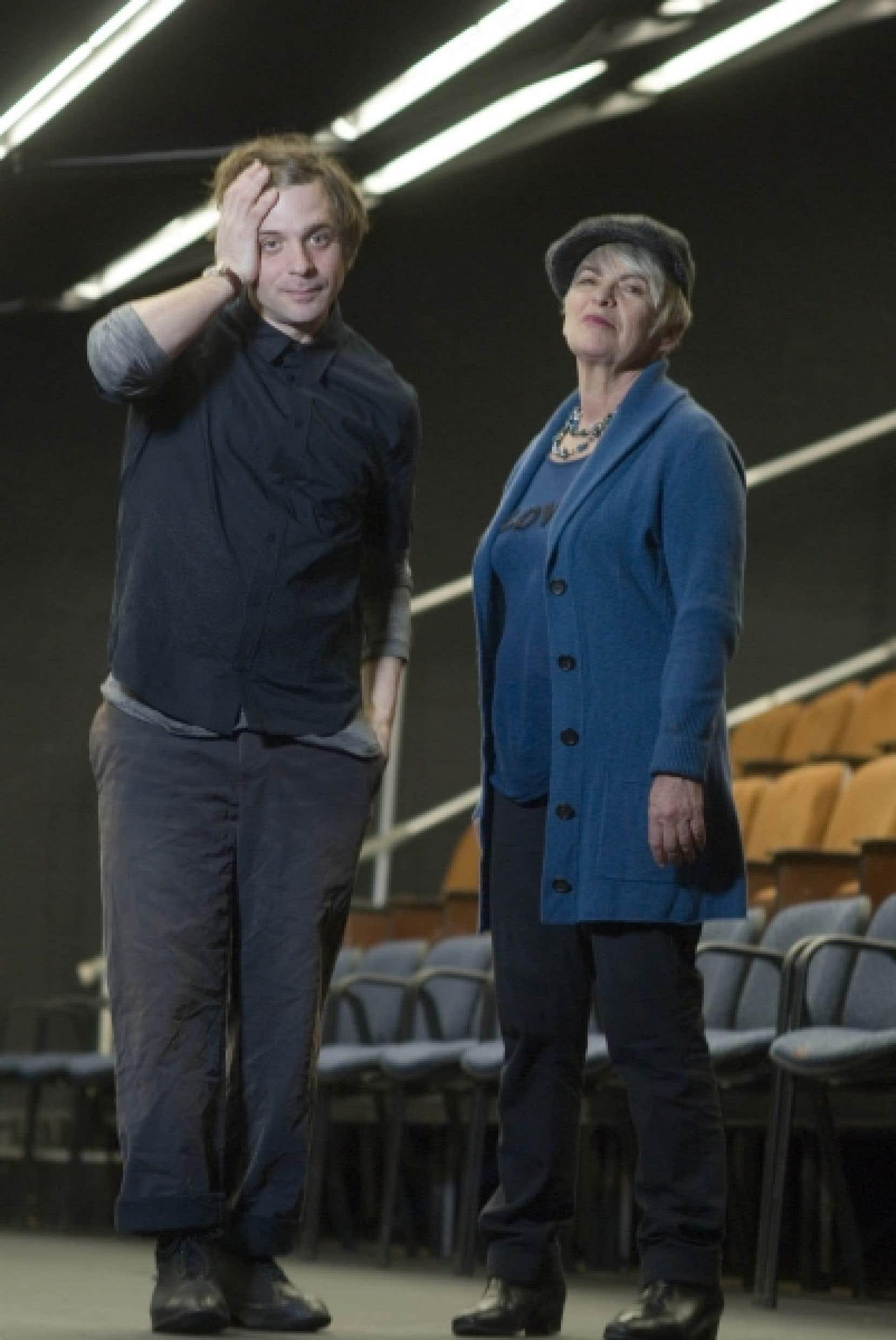 Brigitte Haentjens (à droite), nouvelle directrice artistique du CNA, fait face à un défi de taille.<br />