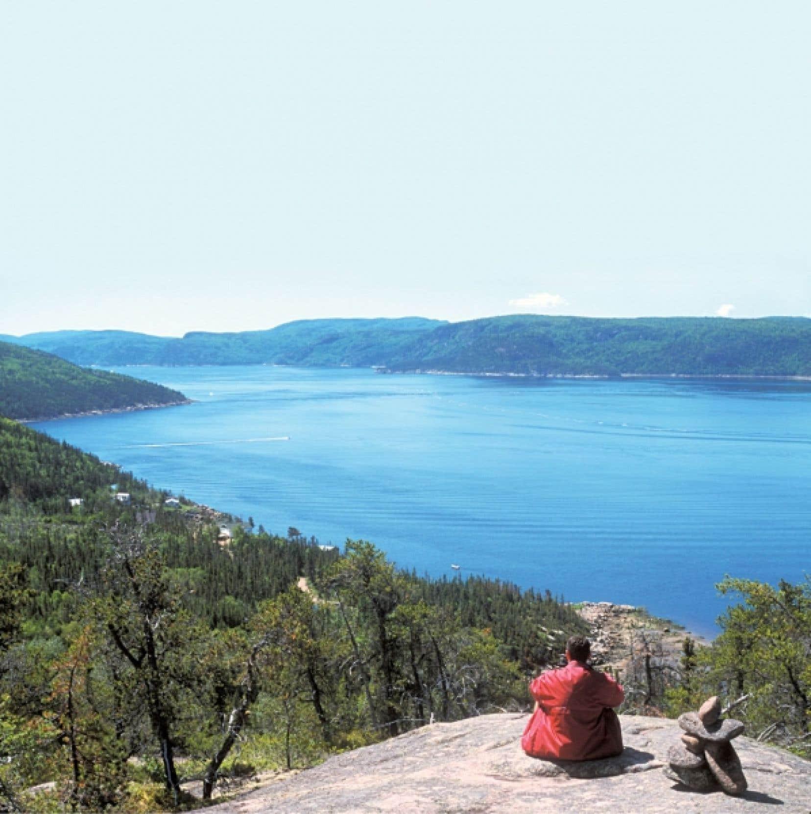 Le fjord du Saguenay s'étend sur plus de 100 kilomètres de splendides paysages.