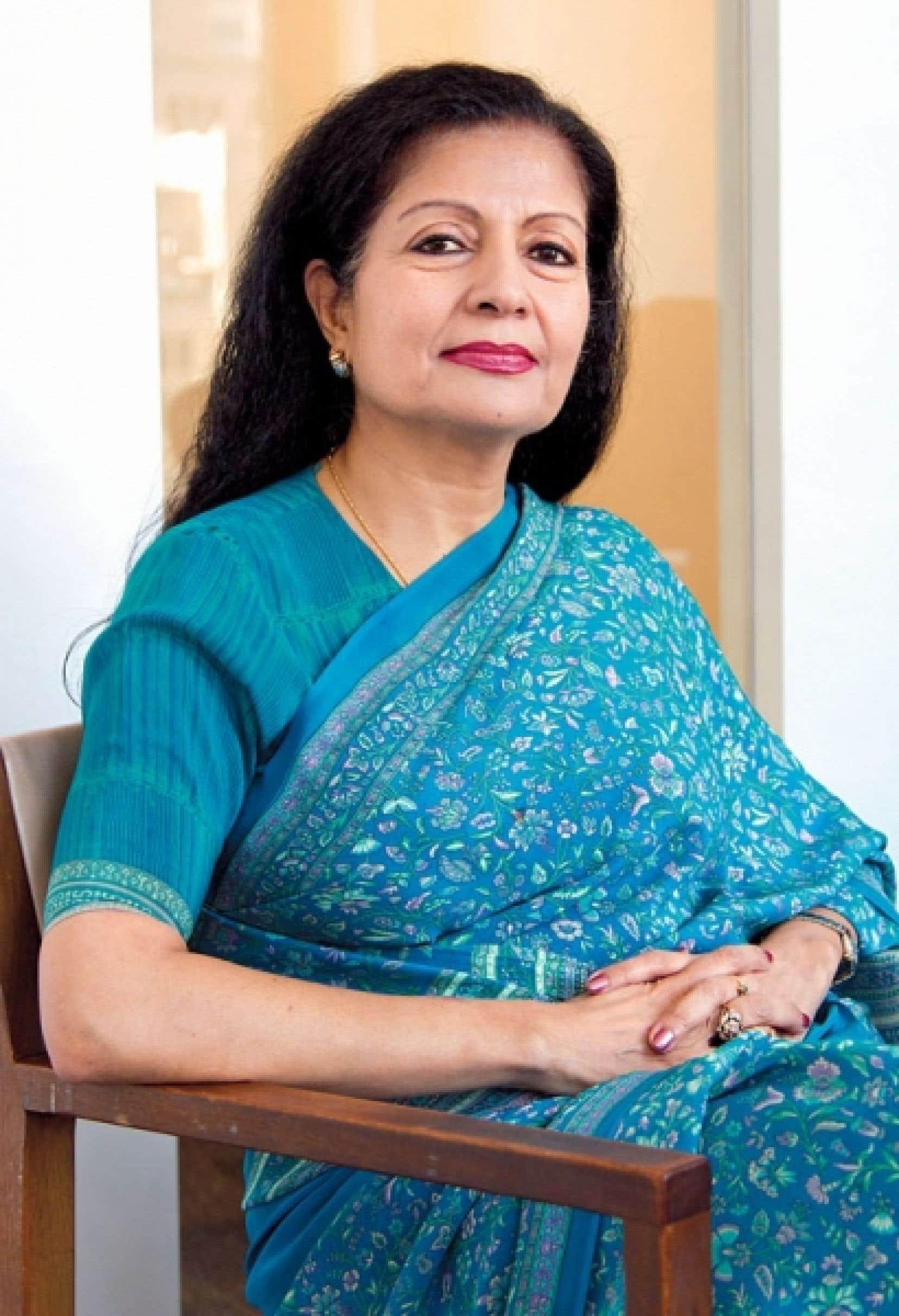 Lakshmi Puri: «Il y a souvent un contexte politique qui favorise l'accession des femmes au pouvoir.»