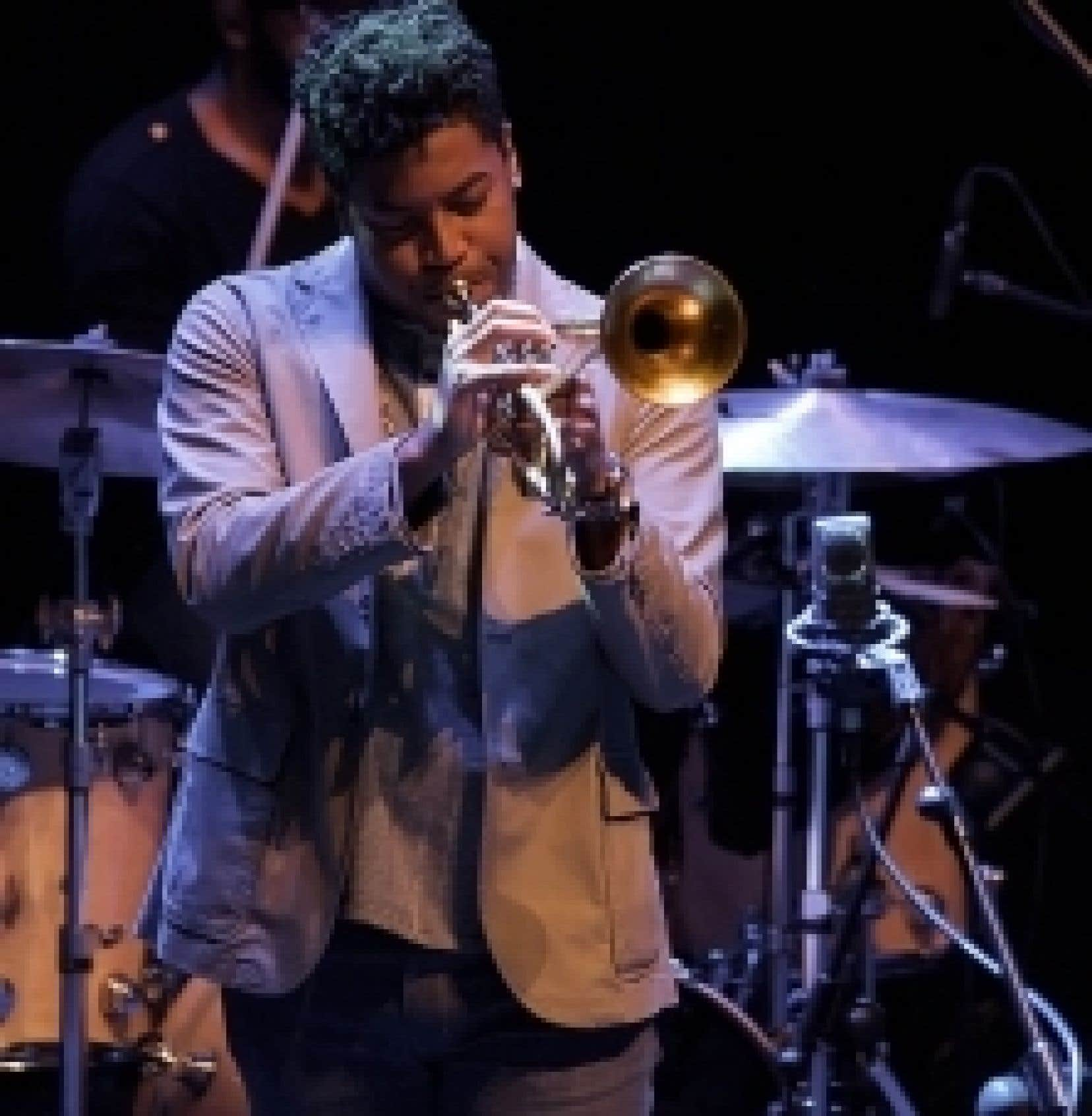 Le trompettiste Christian Scott