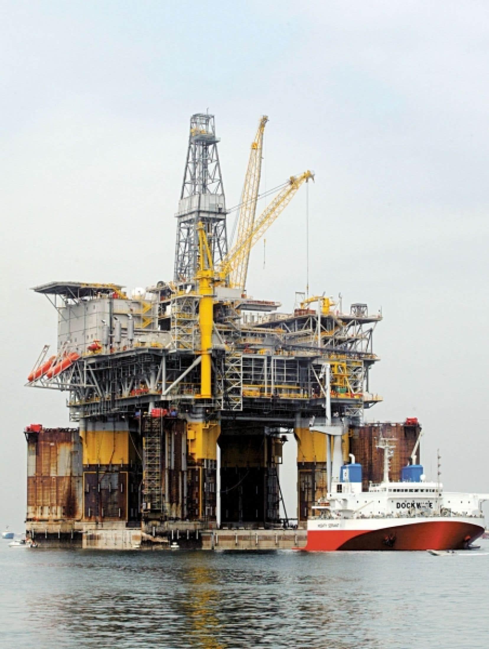 La Nouvelle-Écosse a investi 15 millions afin d'attirer l'industrie pétrolière, espérant voir un jour des plateformes de forage au large de ses côtes.