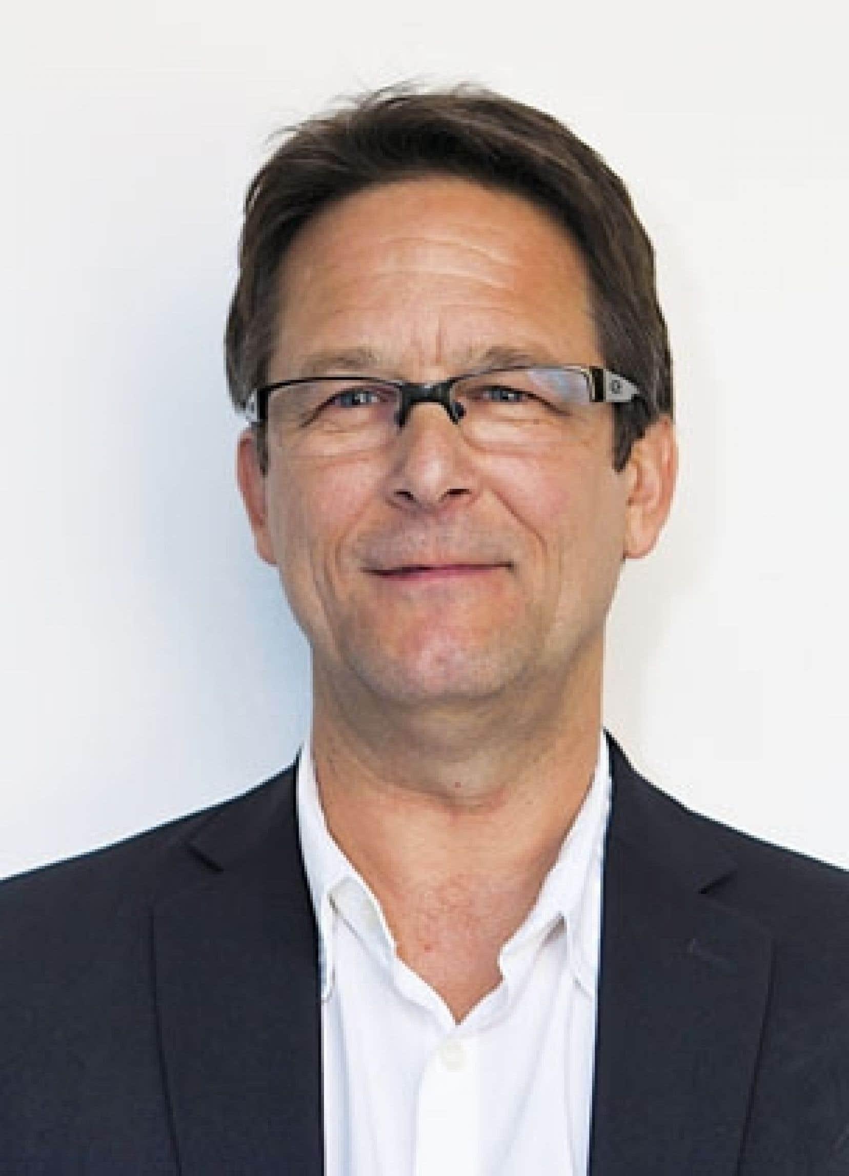 André Frappier, porte-parole par intérim de Québec solidaire