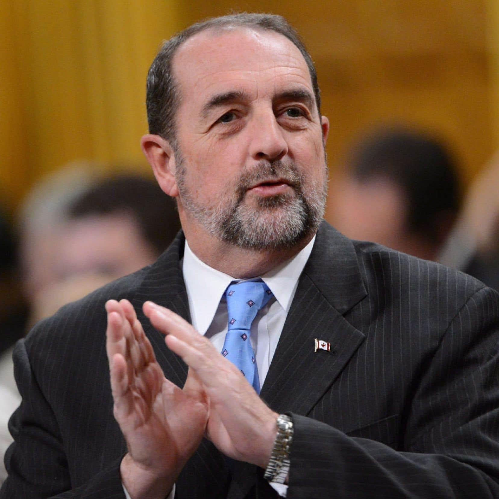 Le ministre fédéral des Transports, Denis Lebel