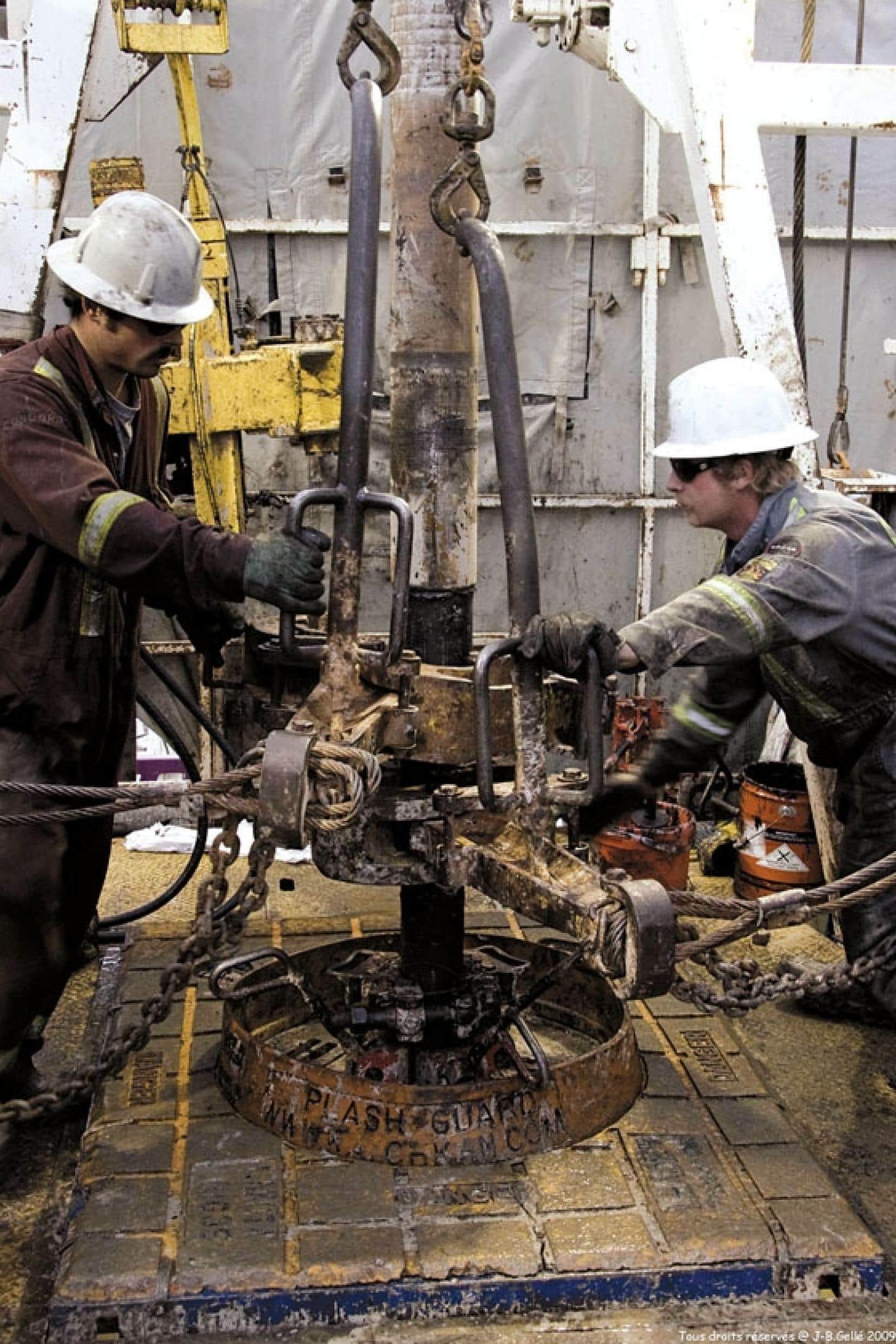 <div> L'entreprise Pétrolia souhaite forer un nouveau puits d'exploration sur le territoire de Gaspé.</div>