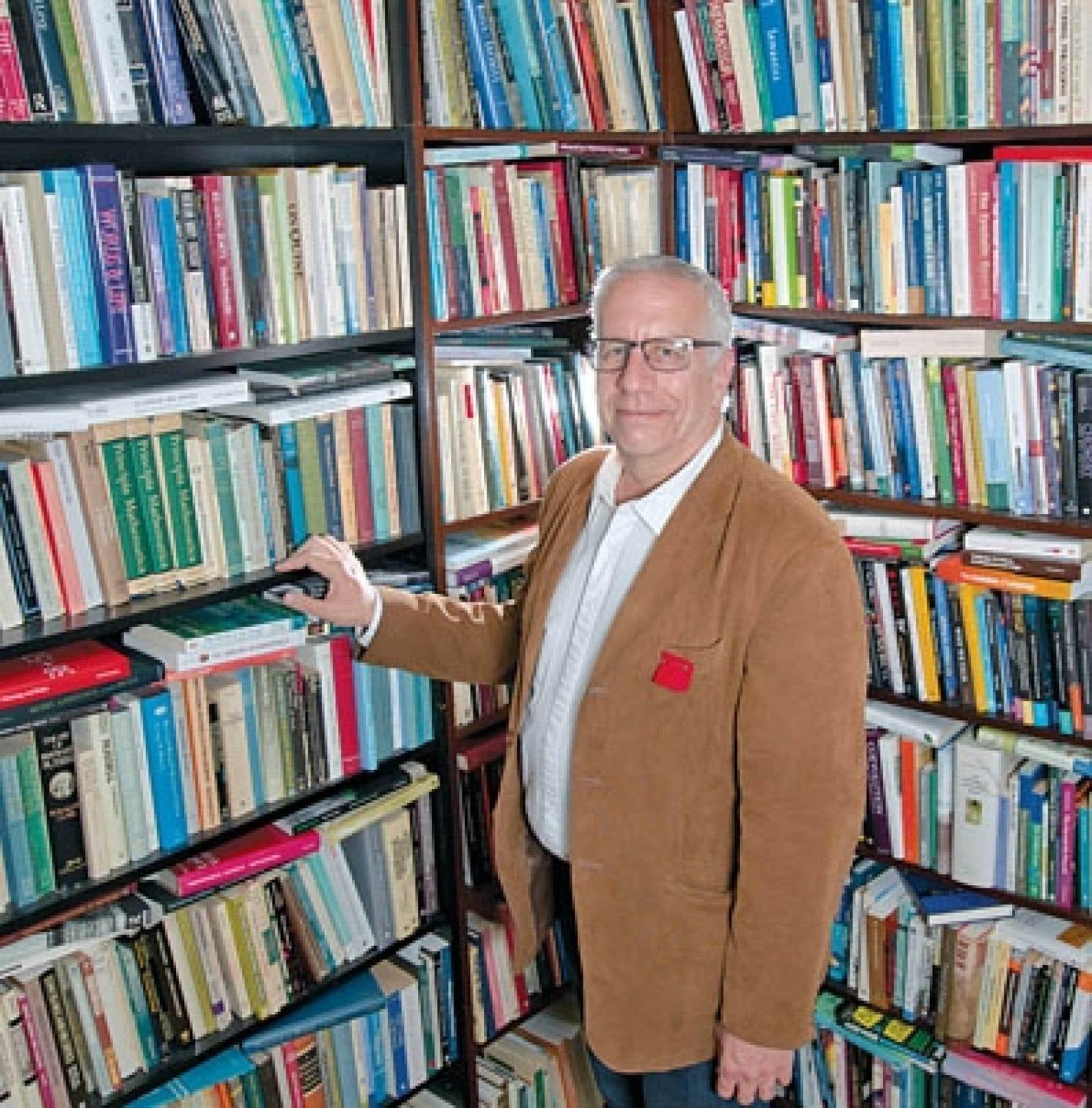 <div> Michel Seymour, philosophe et professeur à l'Université de Montréal</div>