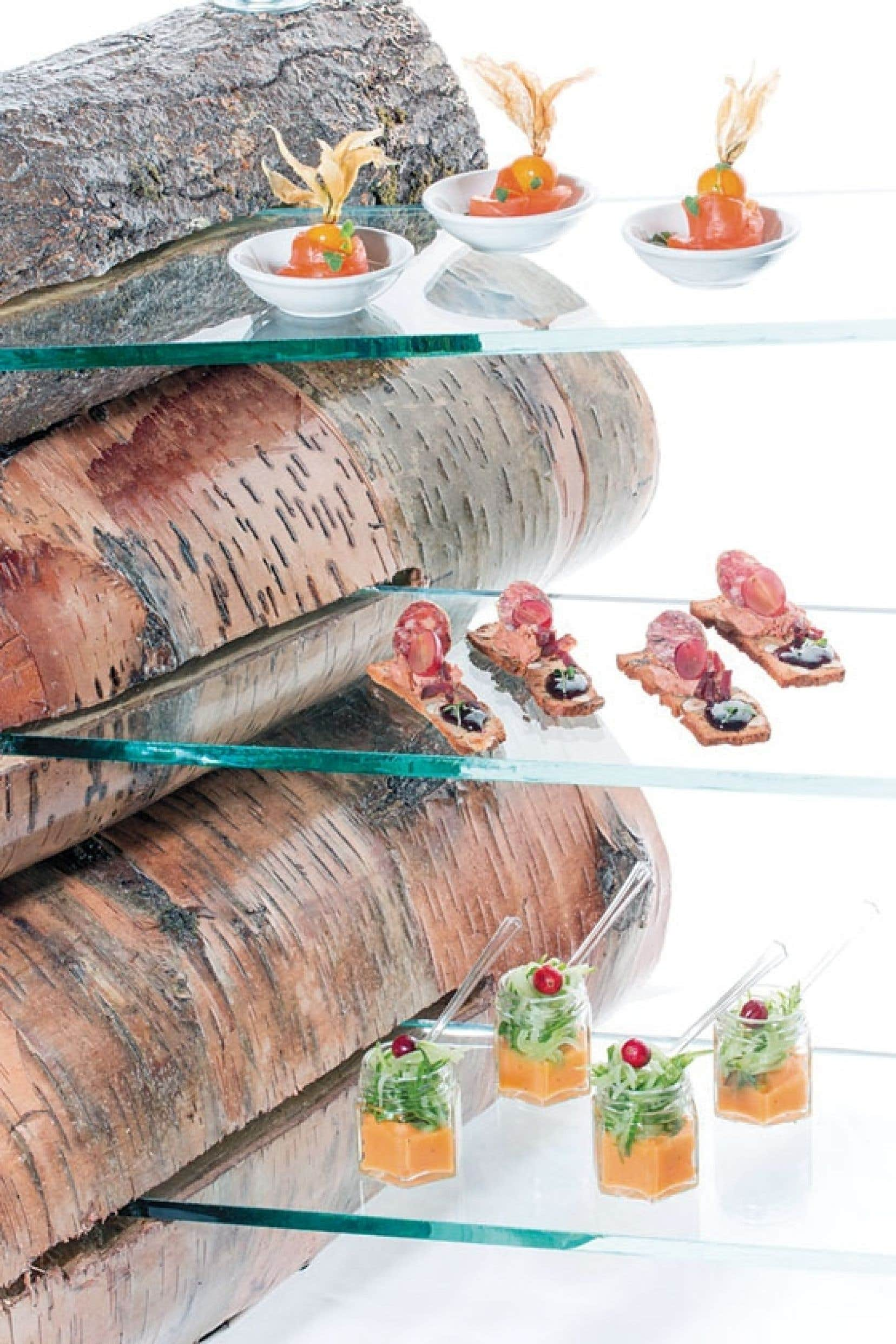 La carte du Bistro Nordik, élaborée avec des produits d'ici, s'inspire de la nouvelle cuisine nordique.