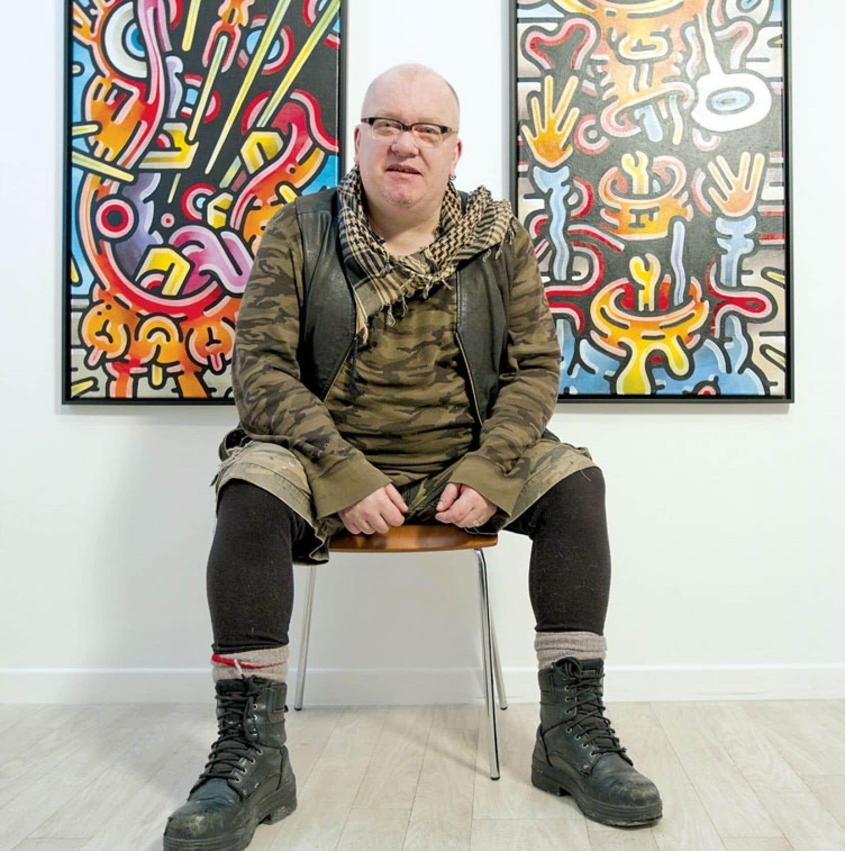 Patrick Henley, alias Henriette Valium, est le maître incontesté de la bédé underground de Montréal.