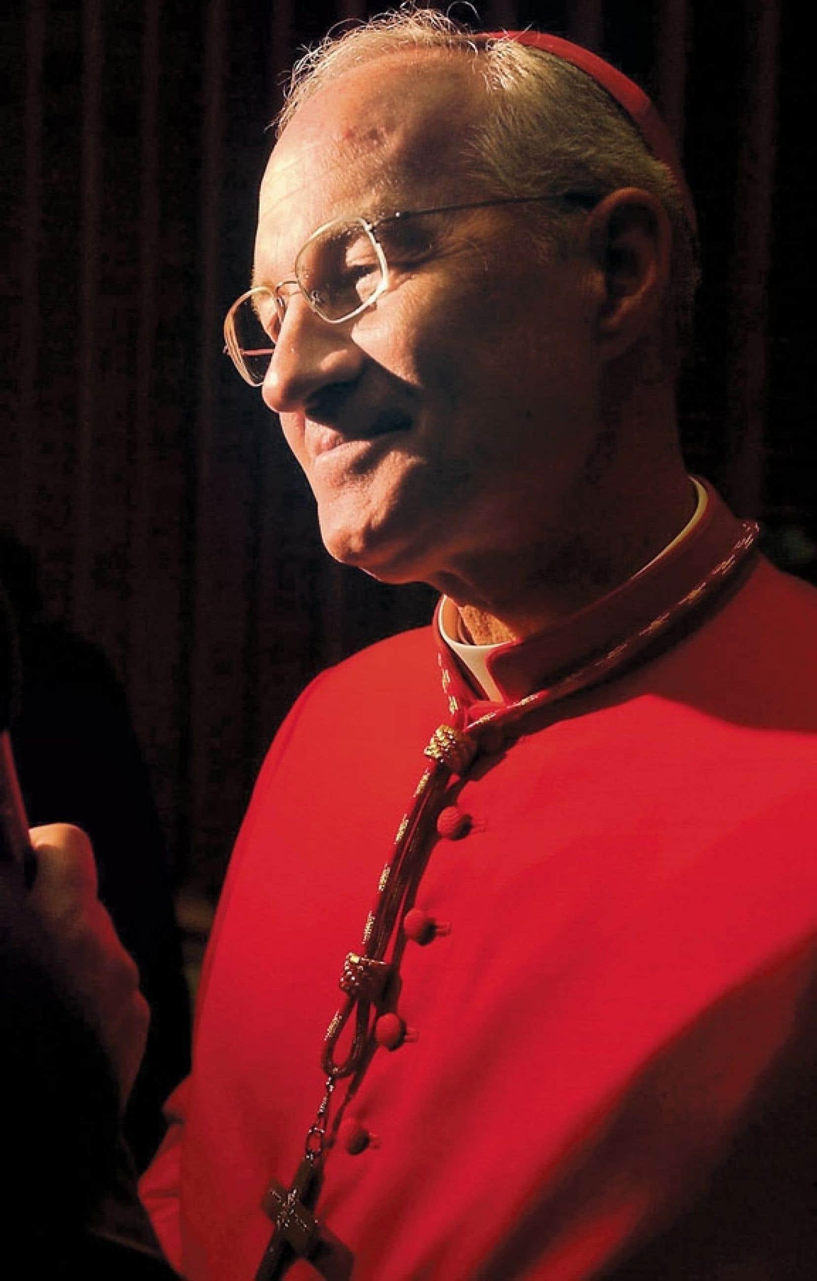 <div> Monseigneur Marc Ouellet a été nommé cardinal par le pape Jean-Paul II en 2003.</div>