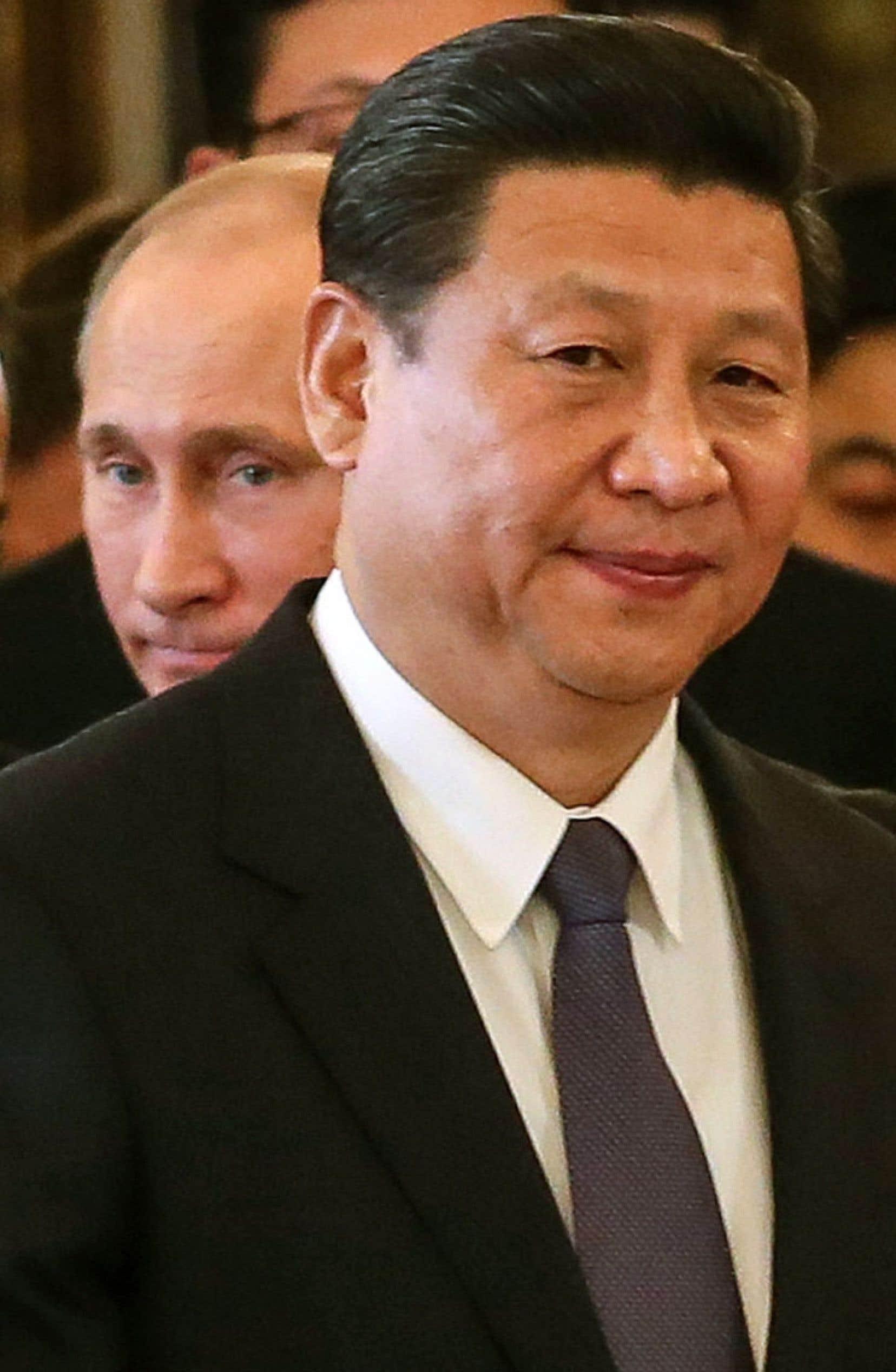 Xi Jinping participait vendredi à un sommet avec Vladimir Poutine à Moscou.