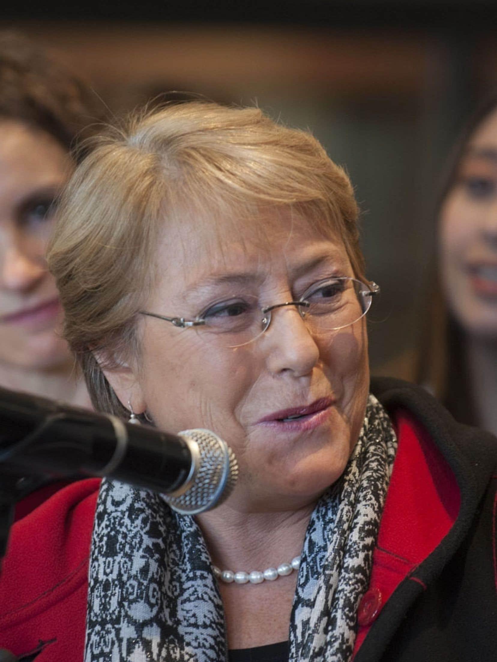 Michelle Bachelet, 61 ans, médecin de formation, avait quitté ses fonctions de présidente avec une popularité record.