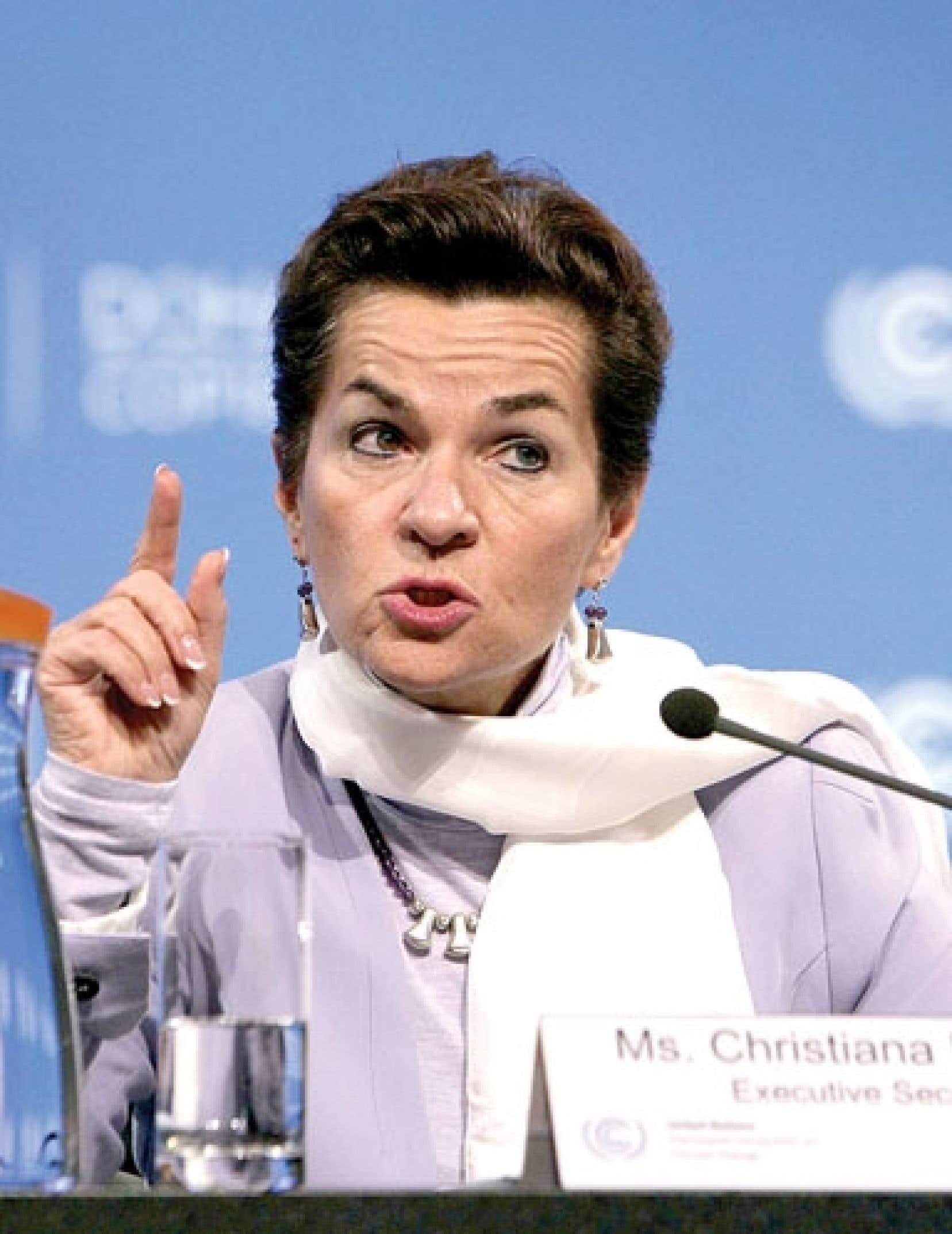 La responsable de l'ONU pour le climat, Christiana Figueres