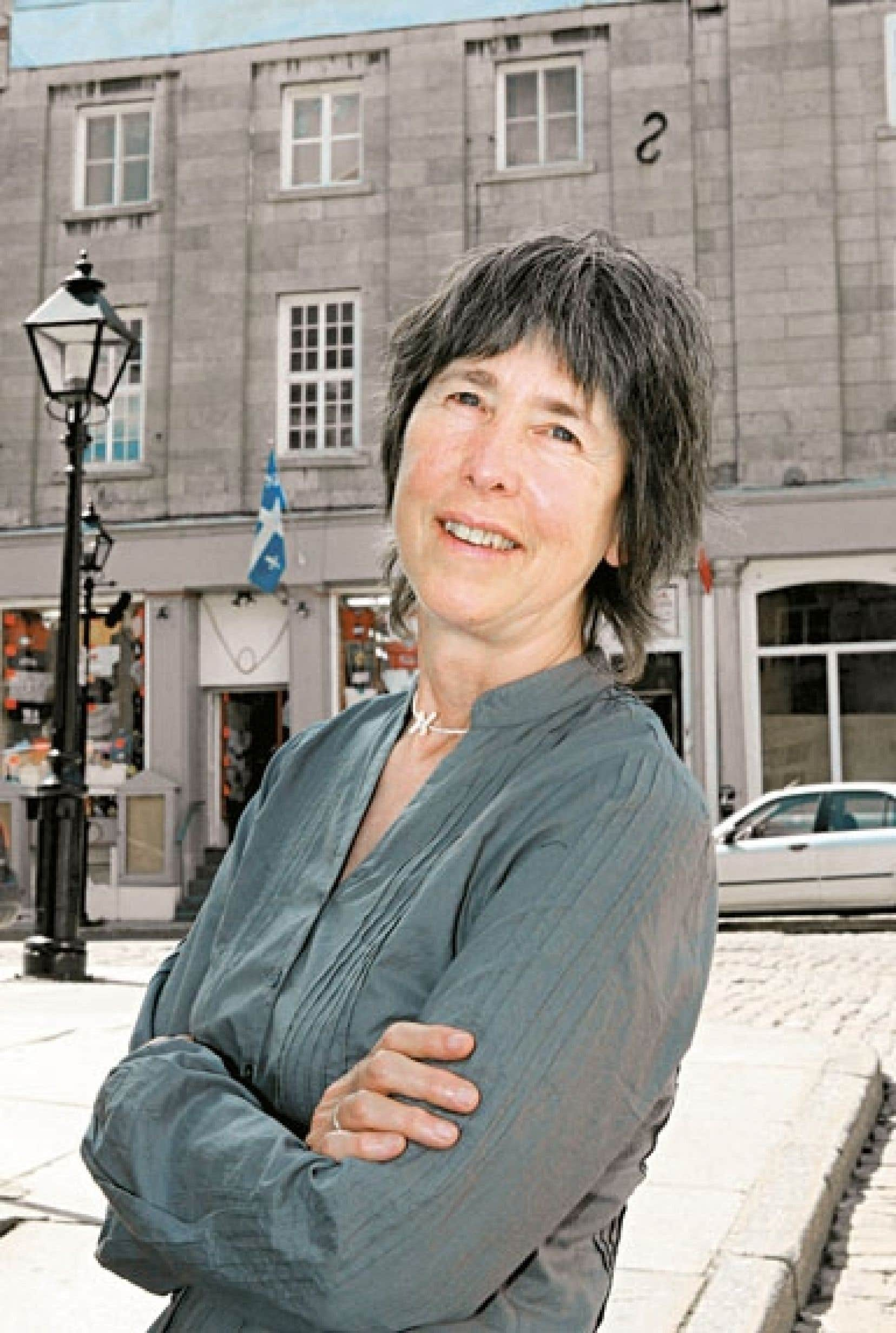 L'écrivaine Francine Ouellette