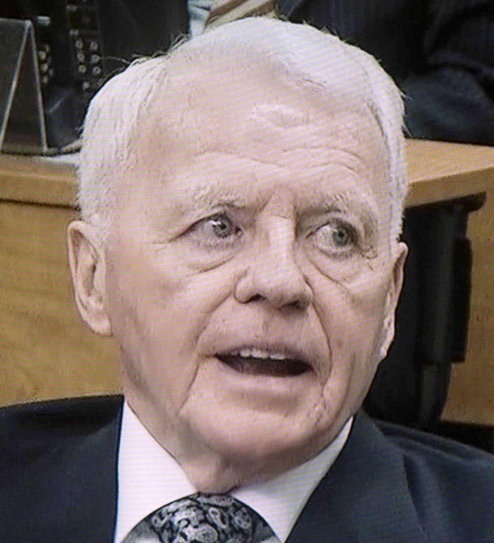 Gilles Cloutier devant la commission Charbonneau