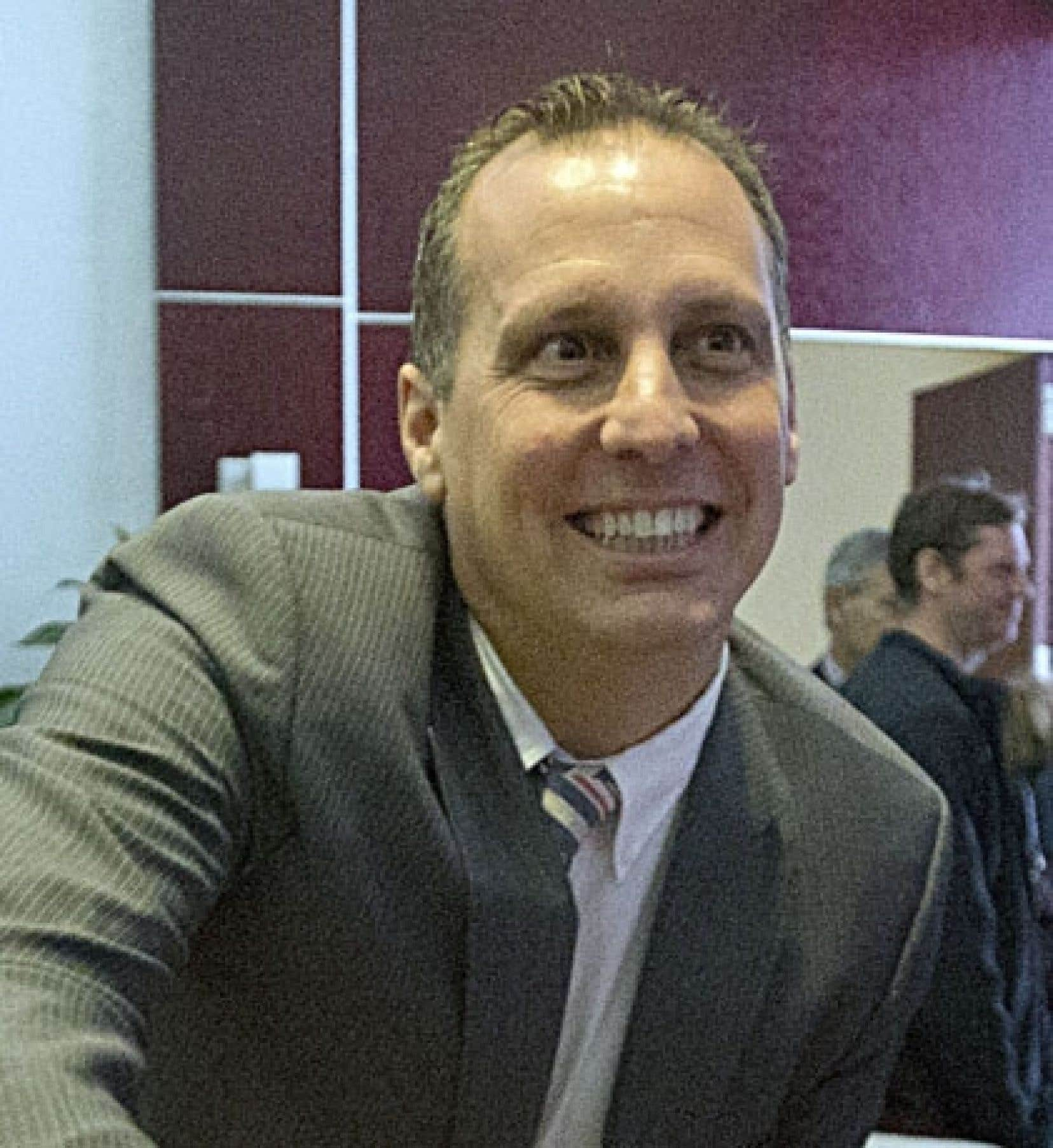 Alexandre Duplessis, maire de Laval par intérim