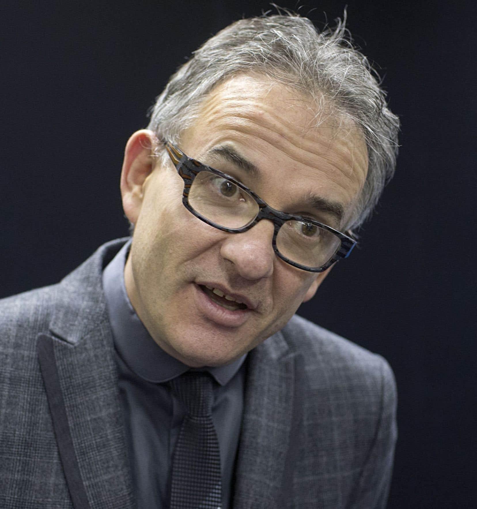 Le ministre Réjean Hébert