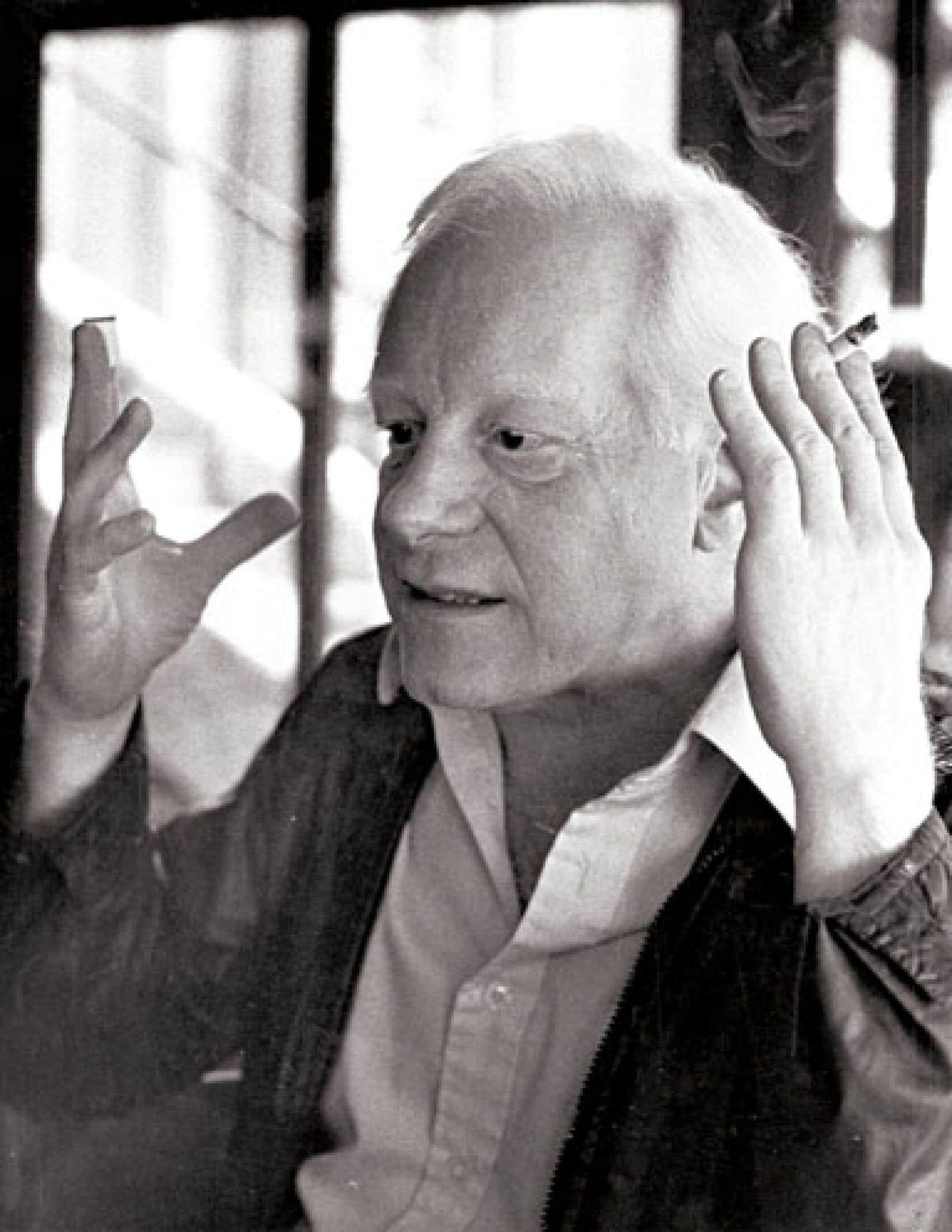 Pierre Bourgault en 1983
