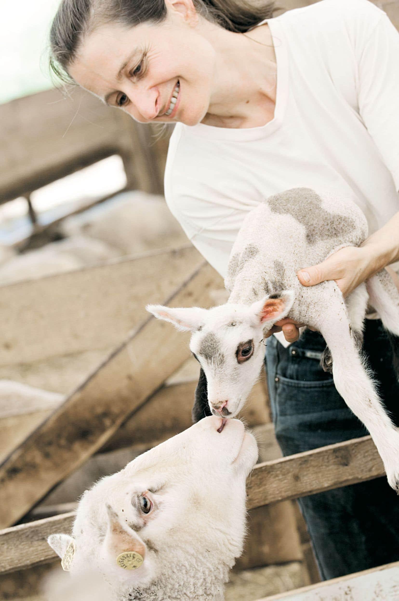 La production d'un agneau de boucherie est dispendieuse et requiert un suivi de tous les instants, selon Manon Lelièvre, productrice en Gaspésie.