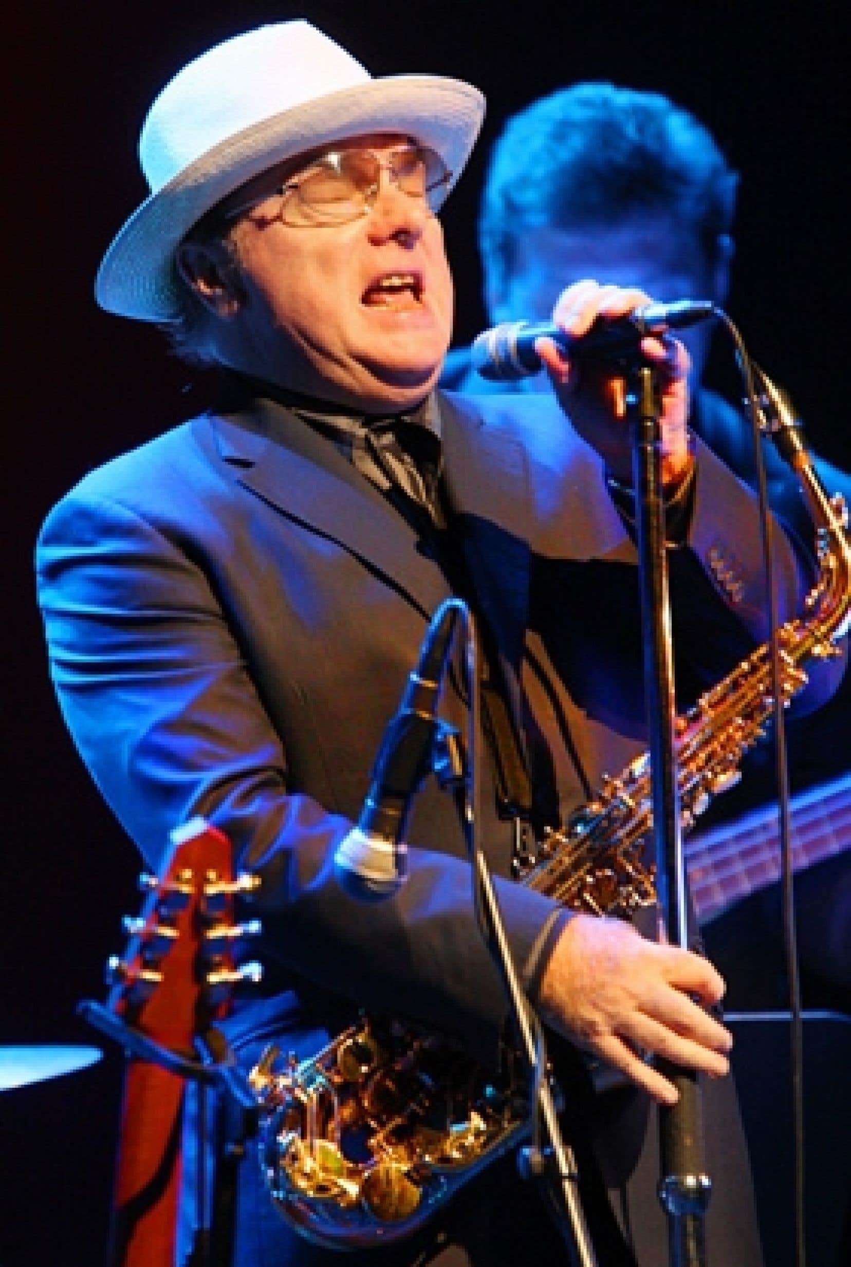 Le spectacle donné par Van Morrison était un des moments forts du 28e Festival international de jazz de Montréal.