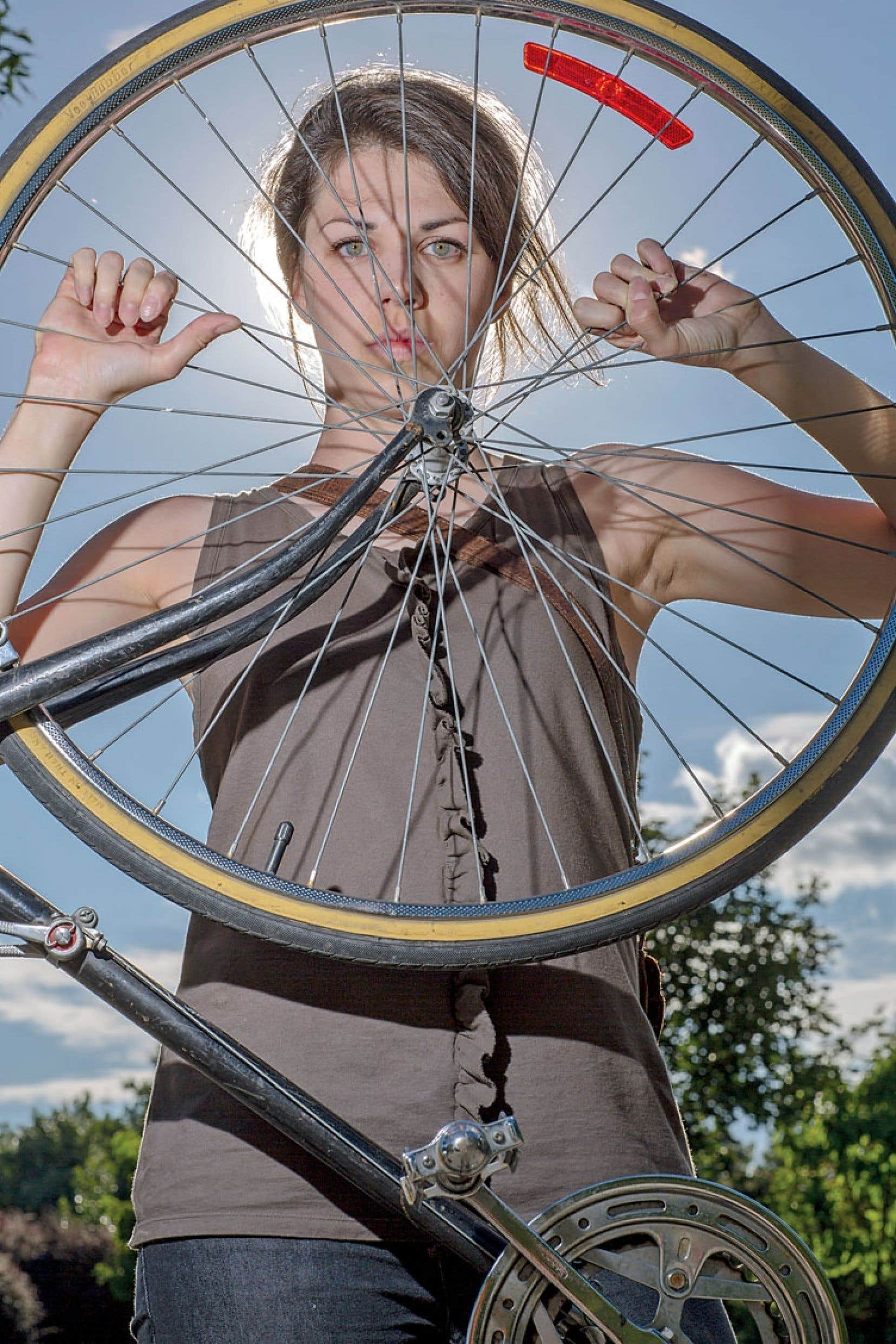 Maude Hénaire fait partie des victimes de vols de vélos qui ont décidé de s'entraider. Elle a créé un groupe Facebook qui représente, dit-elle, « un exemple de solidarité entre citoyens qui peut donner des résultats ».