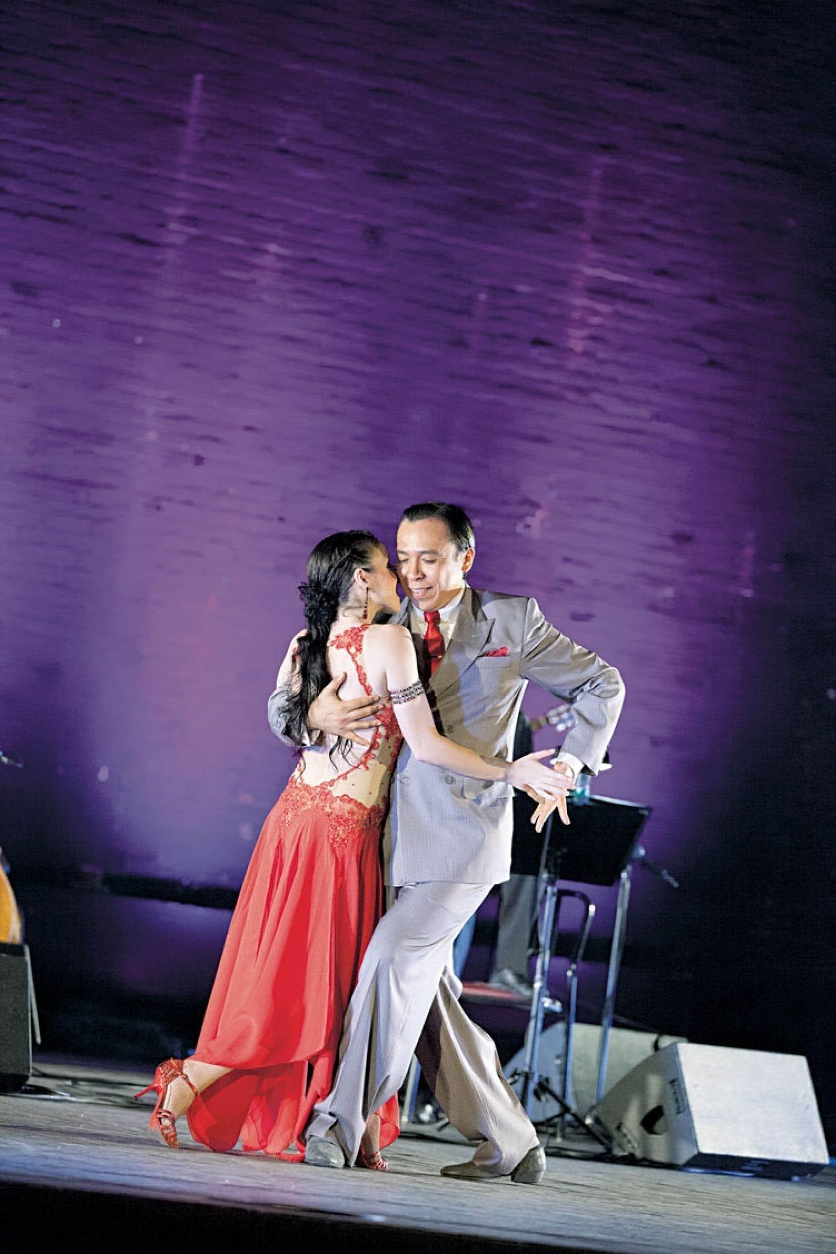 Le couple de tangueros argentins Ivan Romero et Silvana Nunez revient pour la deuxième année consécutive au Festival international de tango de Montréal.