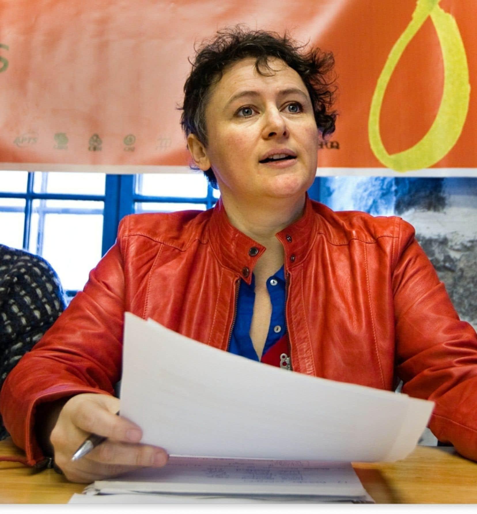 La présidente de la FFQ, Alexa Conradi