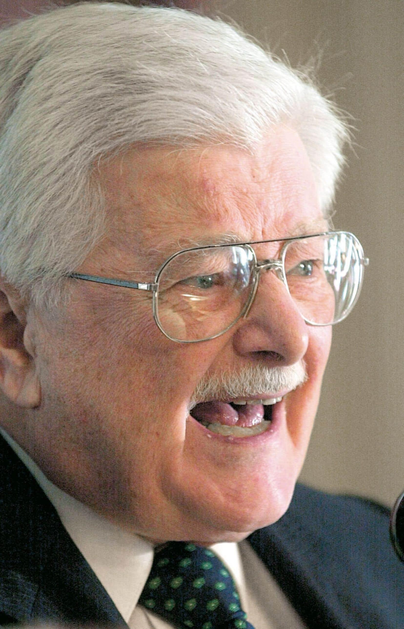 Paul Gérin-Lajoie (ici photographié en 2002) rêve d'une deuxième Révolution tranquille.