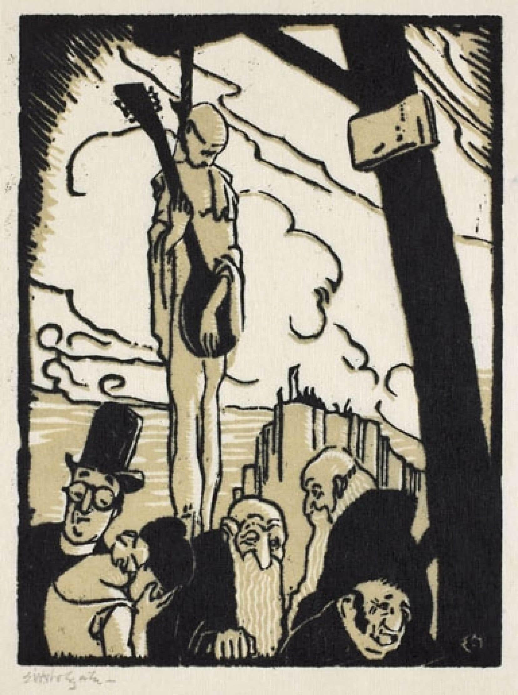 Des illustrations d'Edwin H. Holgate et d'Albert Fournier tirées de L'iconographie d'une littérature.