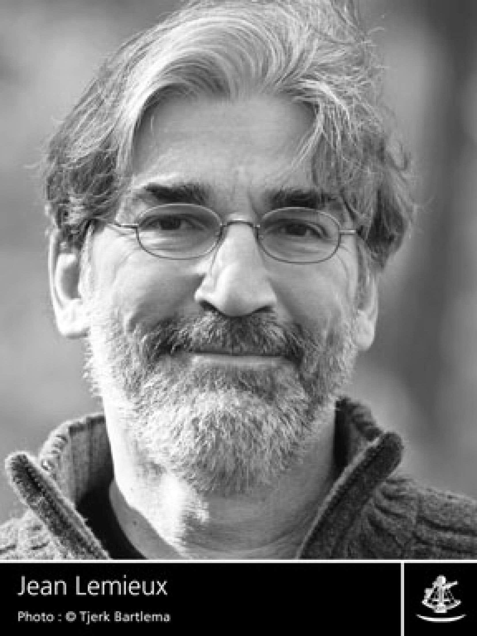 L'écrivain québécois Jean Lemieux