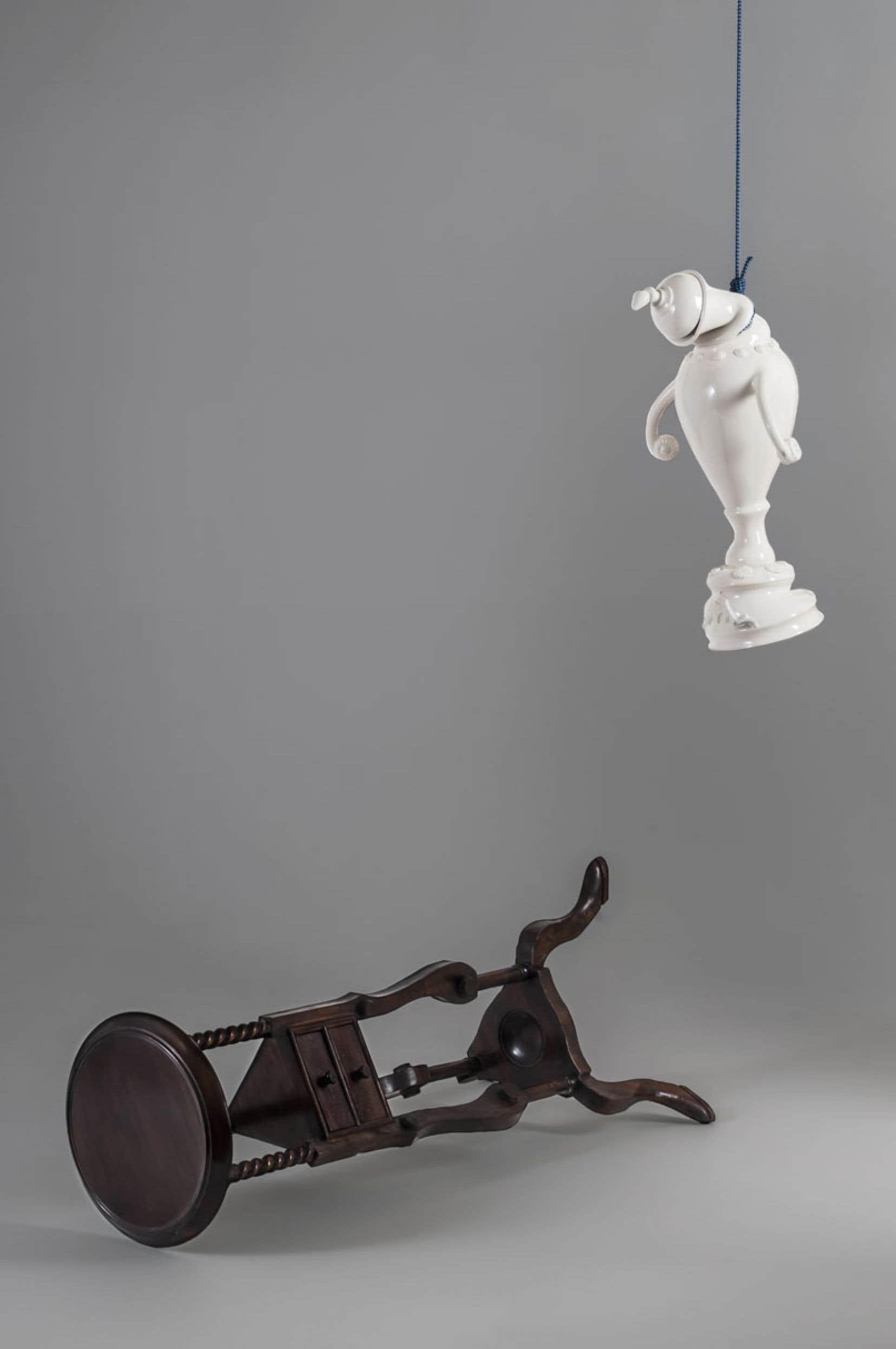 Laurent Craste, La fin d'une potiche II, 2012-13.