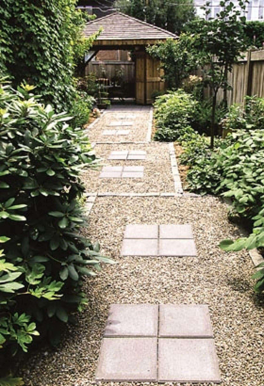 Voici le mariage réussi d'un jardin urbain contemporain facile d'entretien et d'une végétation bien choisie, épanouie et en santé.