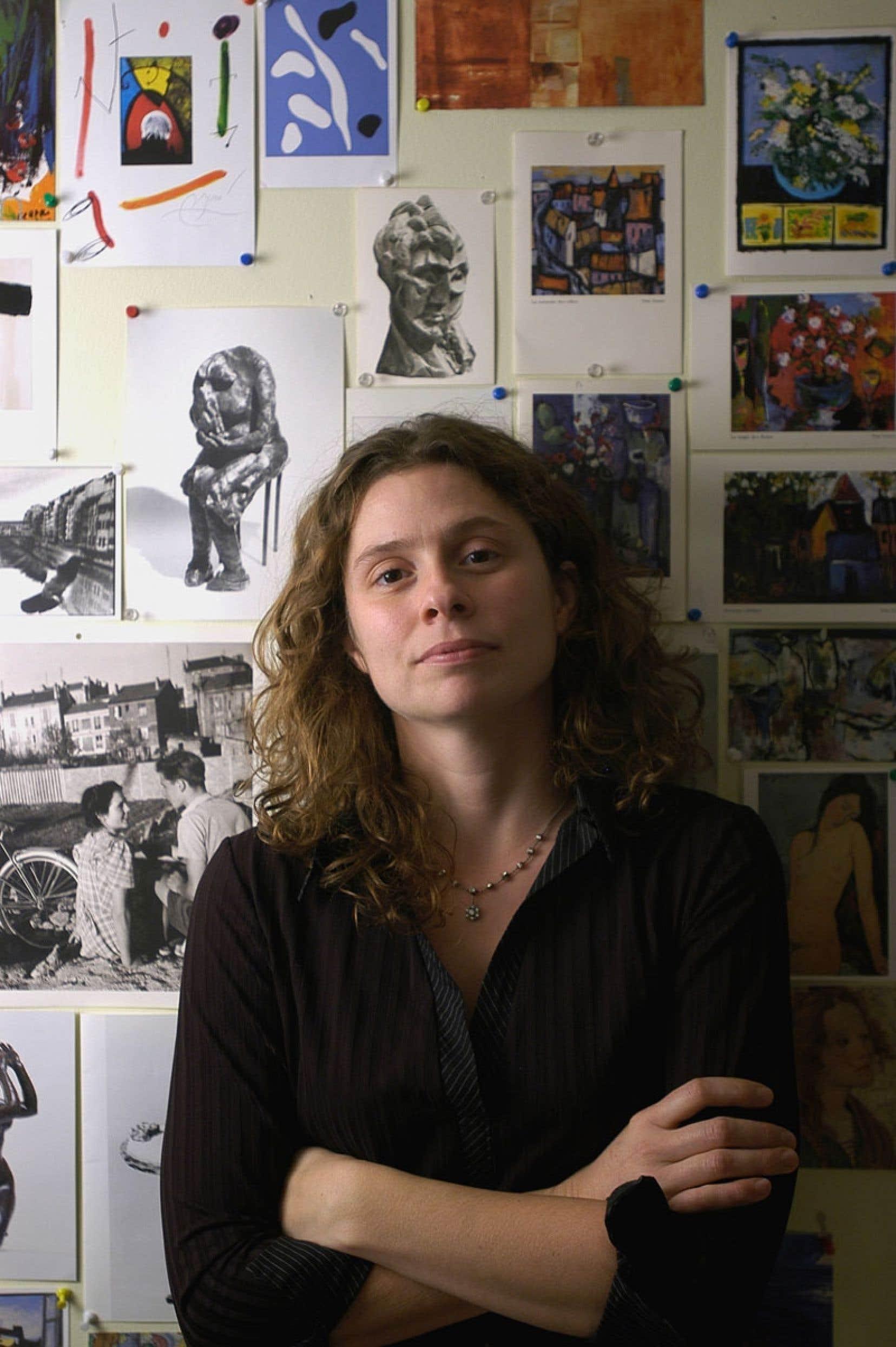 L'écrivaine Roxanne Bouchard