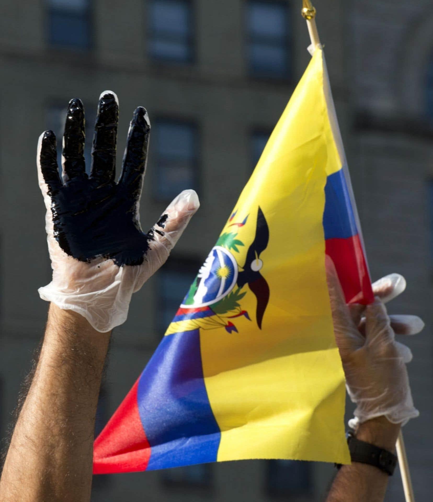 Les Équatoriens victimes de la pollution causée par Texaco tentent d'obtenir réparation en s'adressant notamment à la justice canadienne.