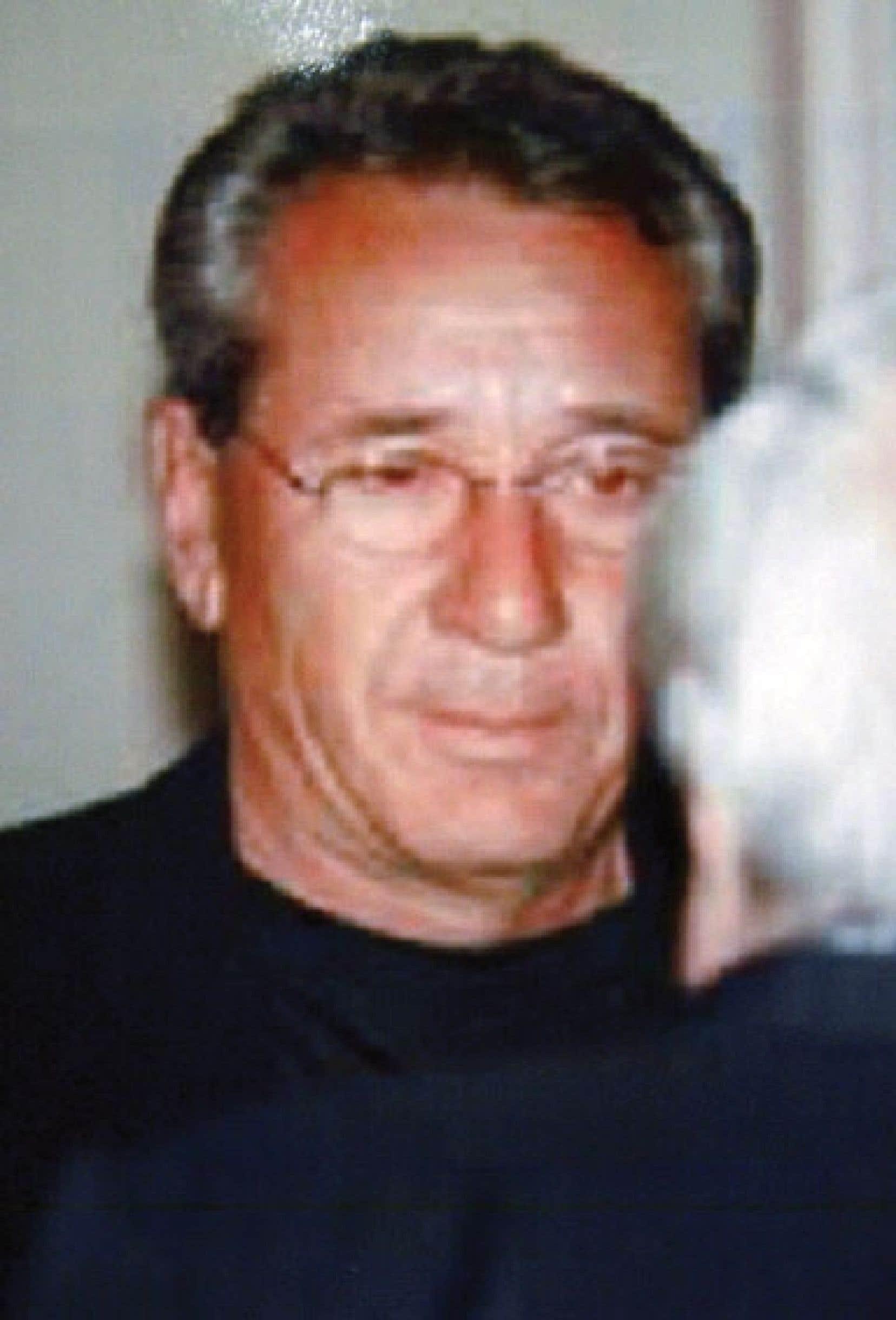 Vito Rizzuto, sur une photographie dévoilée en 2005 par la police de Rome, en Italie.