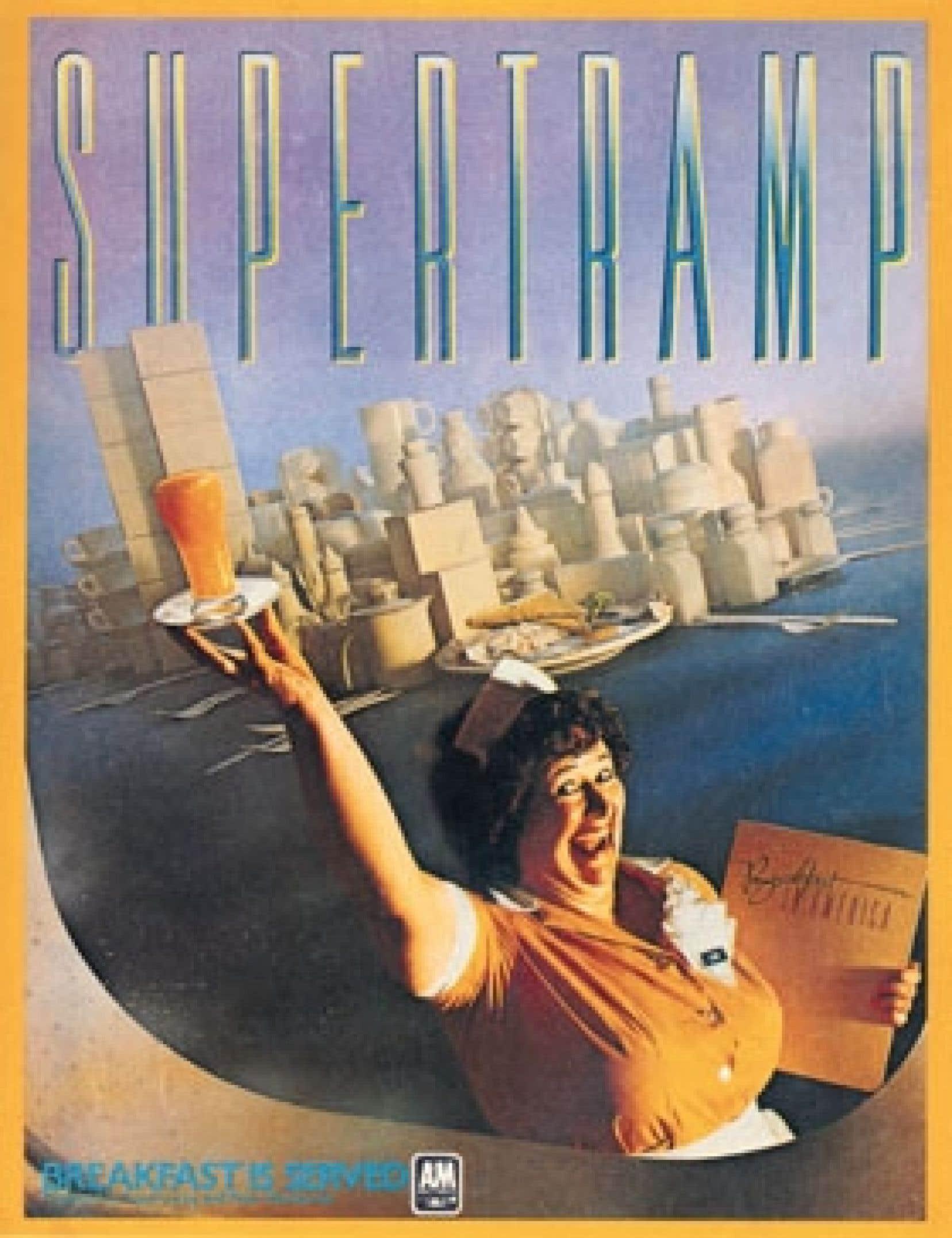 Supertramp, Breakfast Is Served, 1979. Tiré de 70S All-American Ads, Ed. Jim Heimann, Taschen.