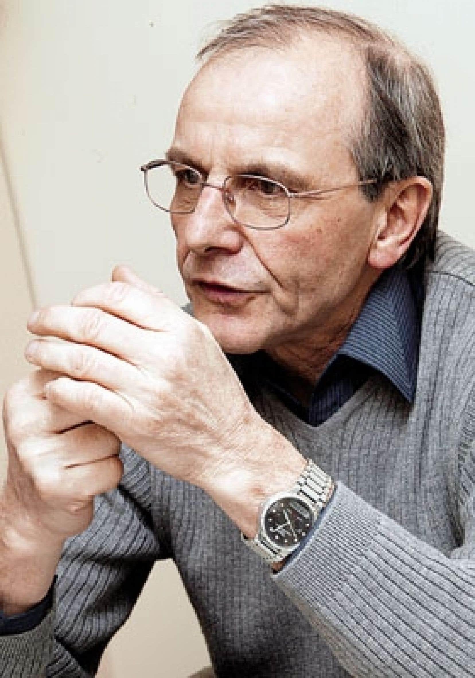 Le généticien et philosophe Axel Kahn