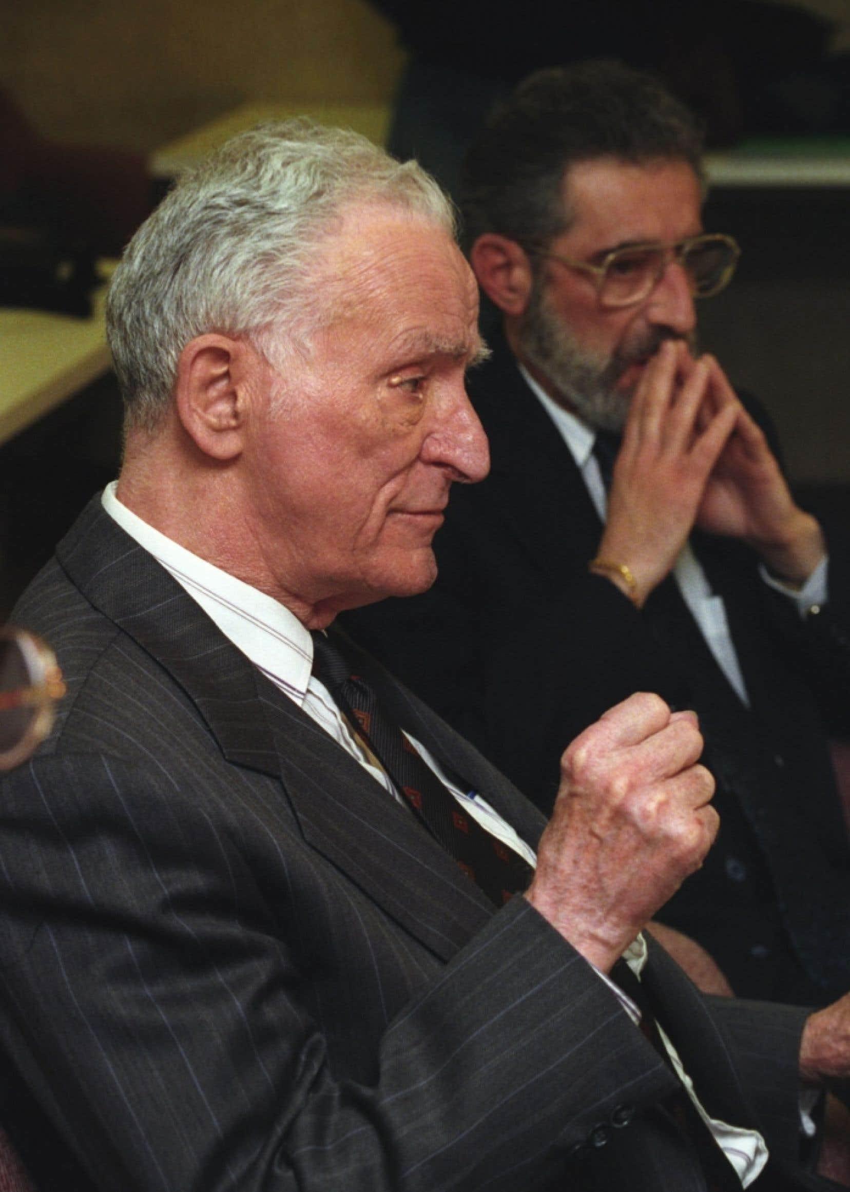 Claude Ryan en janvier 1993