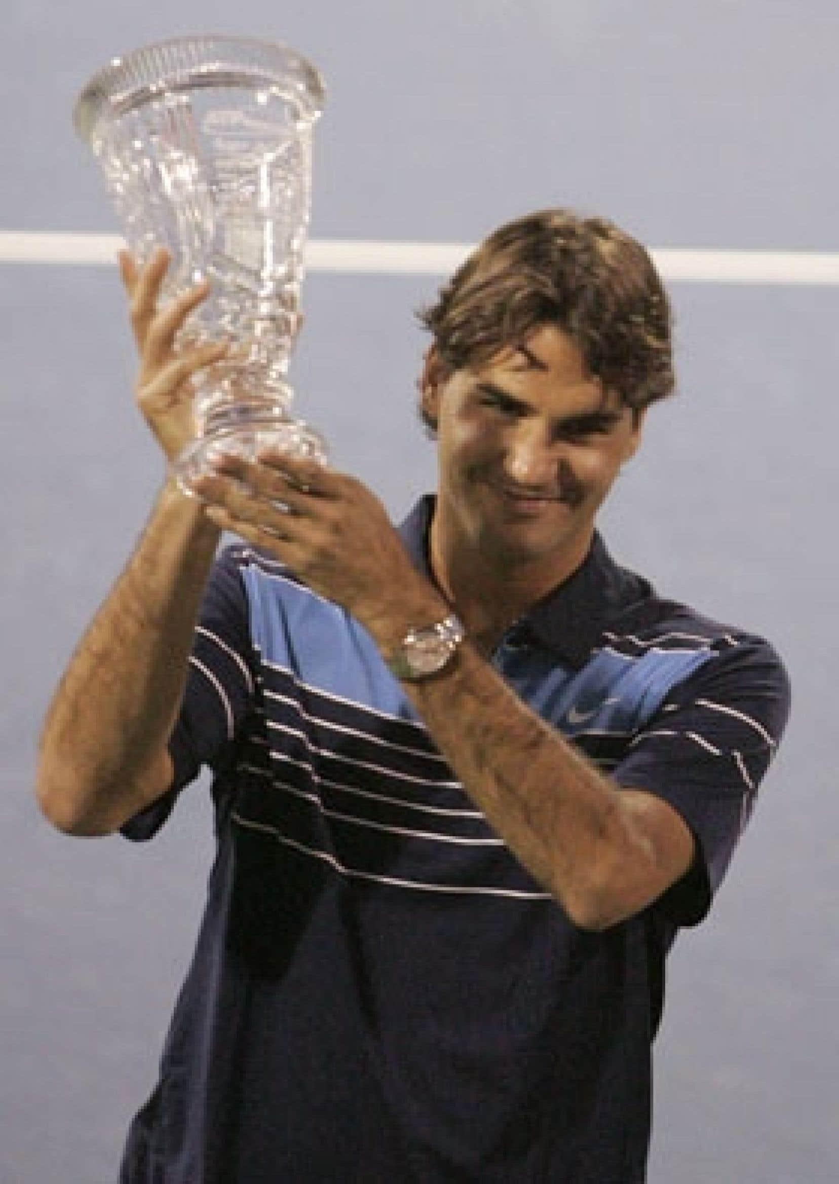 En tête depuis le 4 février 2004, Roger Federer entamait hier sa 161e semaine de suite dans la peau de numéro 1 du tennis.