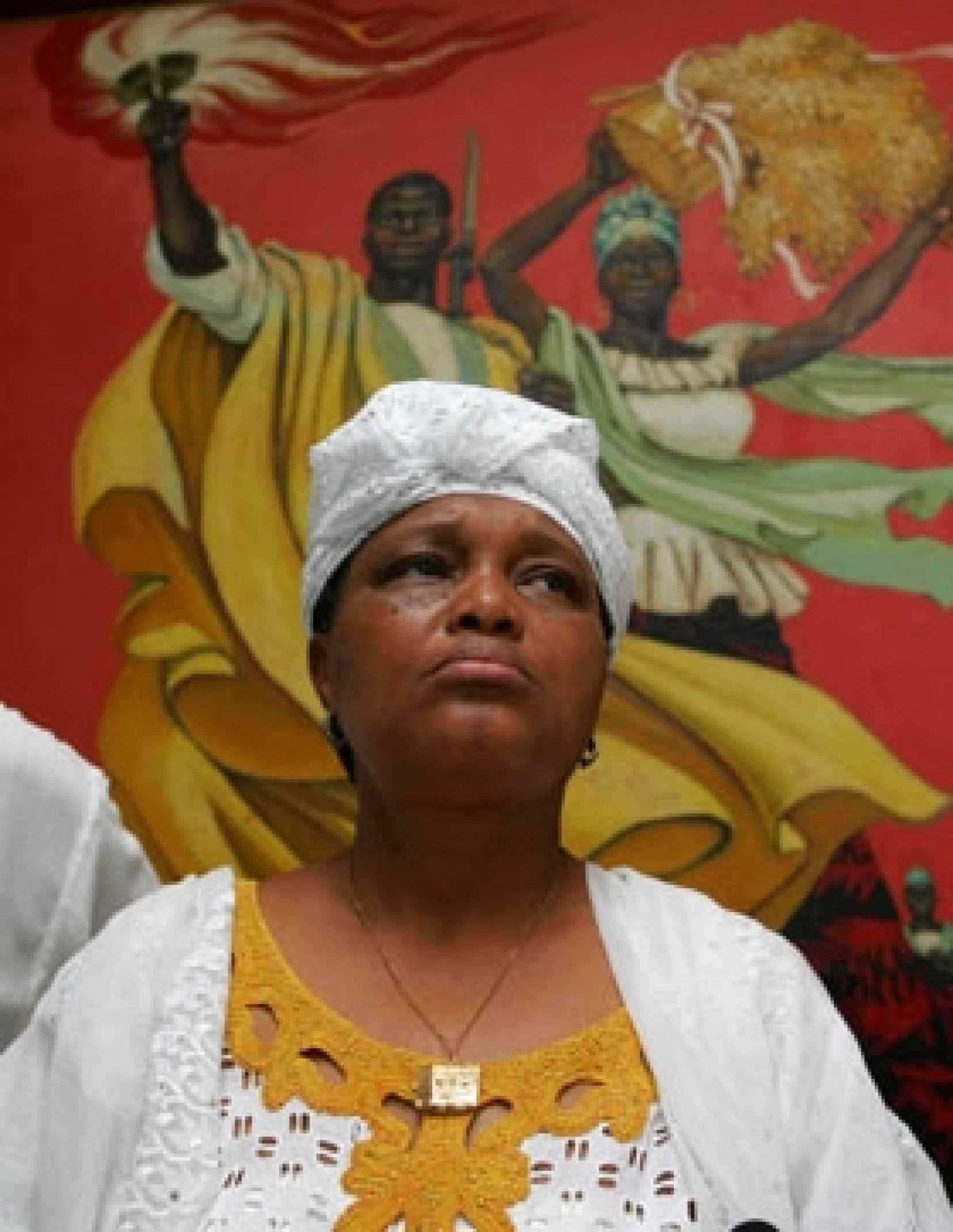 Hier, la syndicaliste Rabiatou Serah Diallo a accueilli favorablement l'offre de Conté.